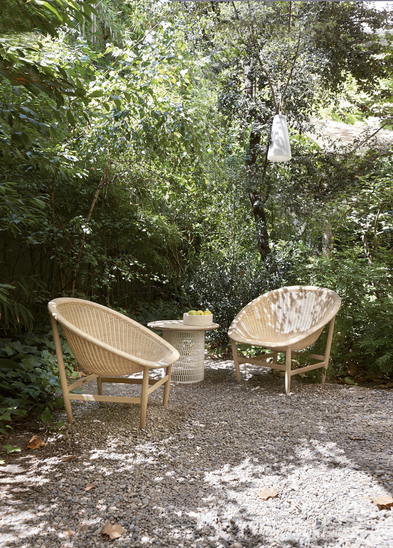 Basket club chair fauteuils de jardin de kettal architonic for Jardin anglais caracteristiques