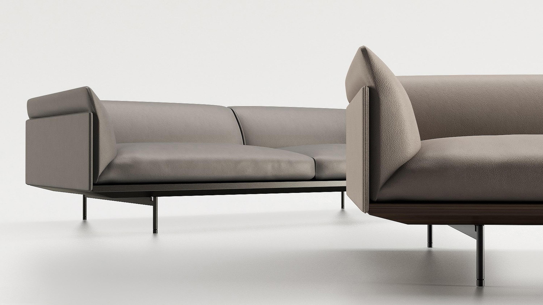 corio loungesofas von enne architonic. Black Bedroom Furniture Sets. Home Design Ideas