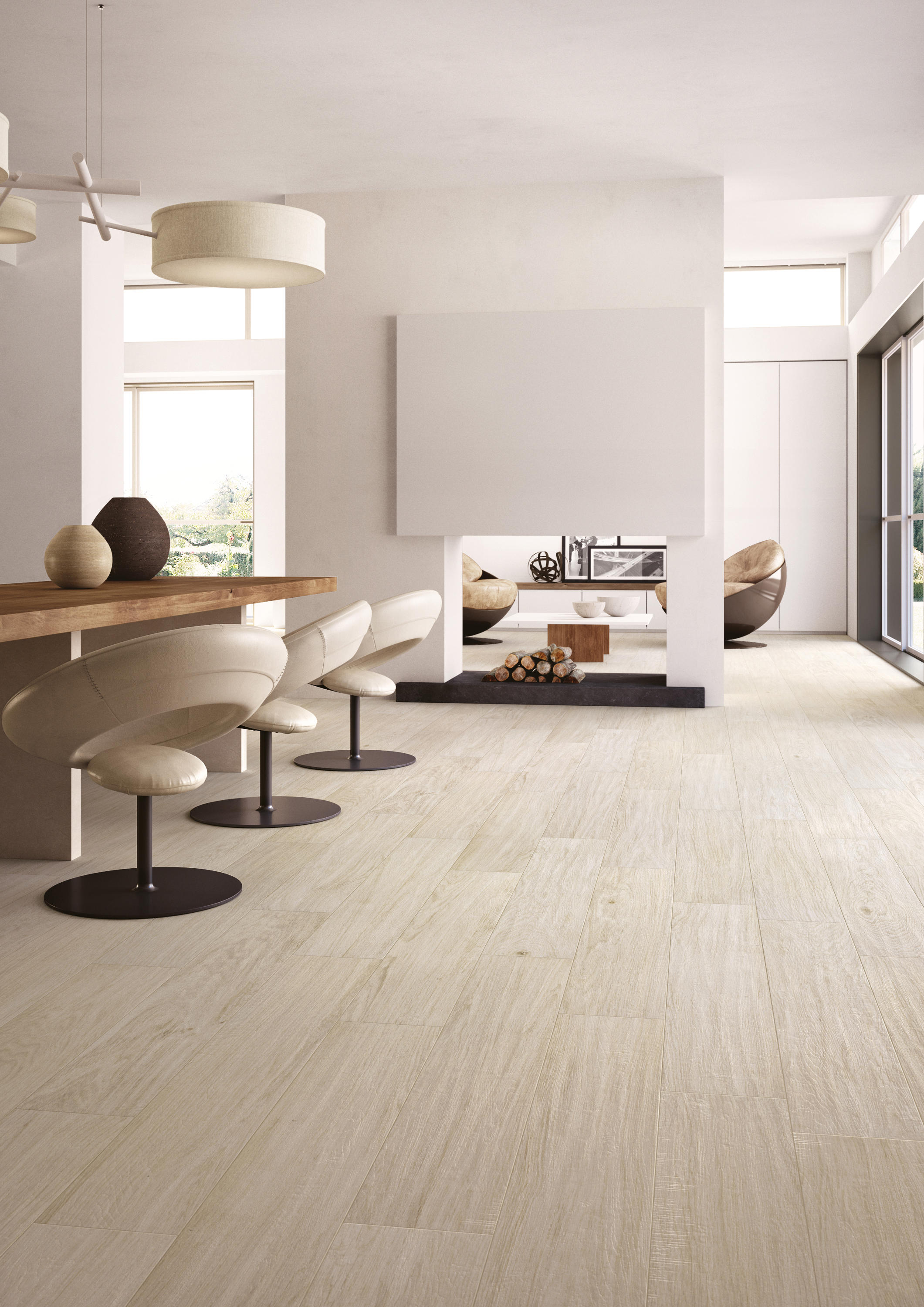 Silvis candeo floor tiles from cotto d 39 este architonic for Pose carrelage sol imitation parquet