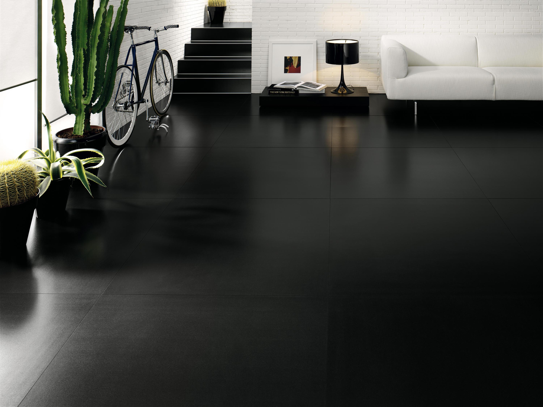 BLACK WHITE BLACK Floor tiles from Cotto d Este