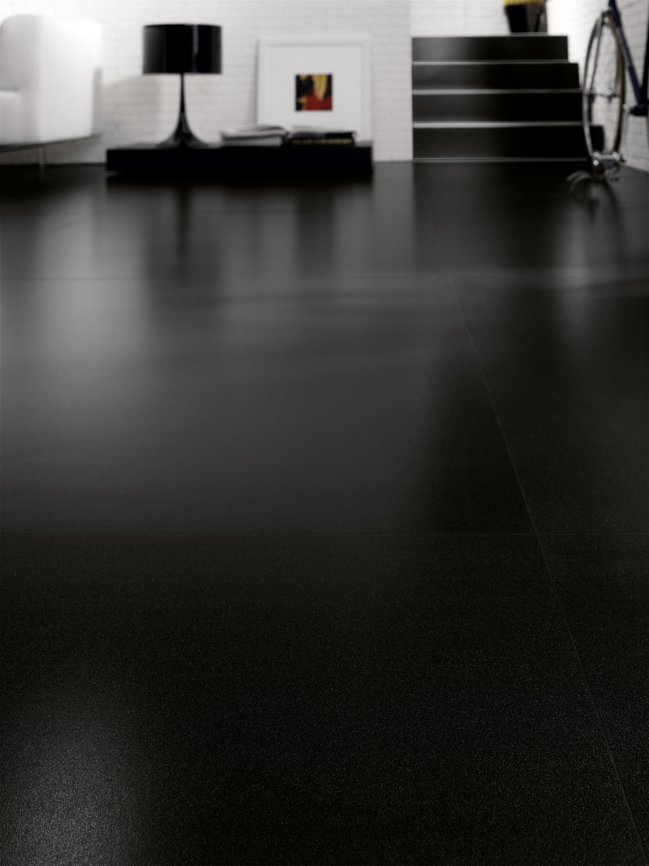 Black White Black Ceramic Tiles From Cotto D Este