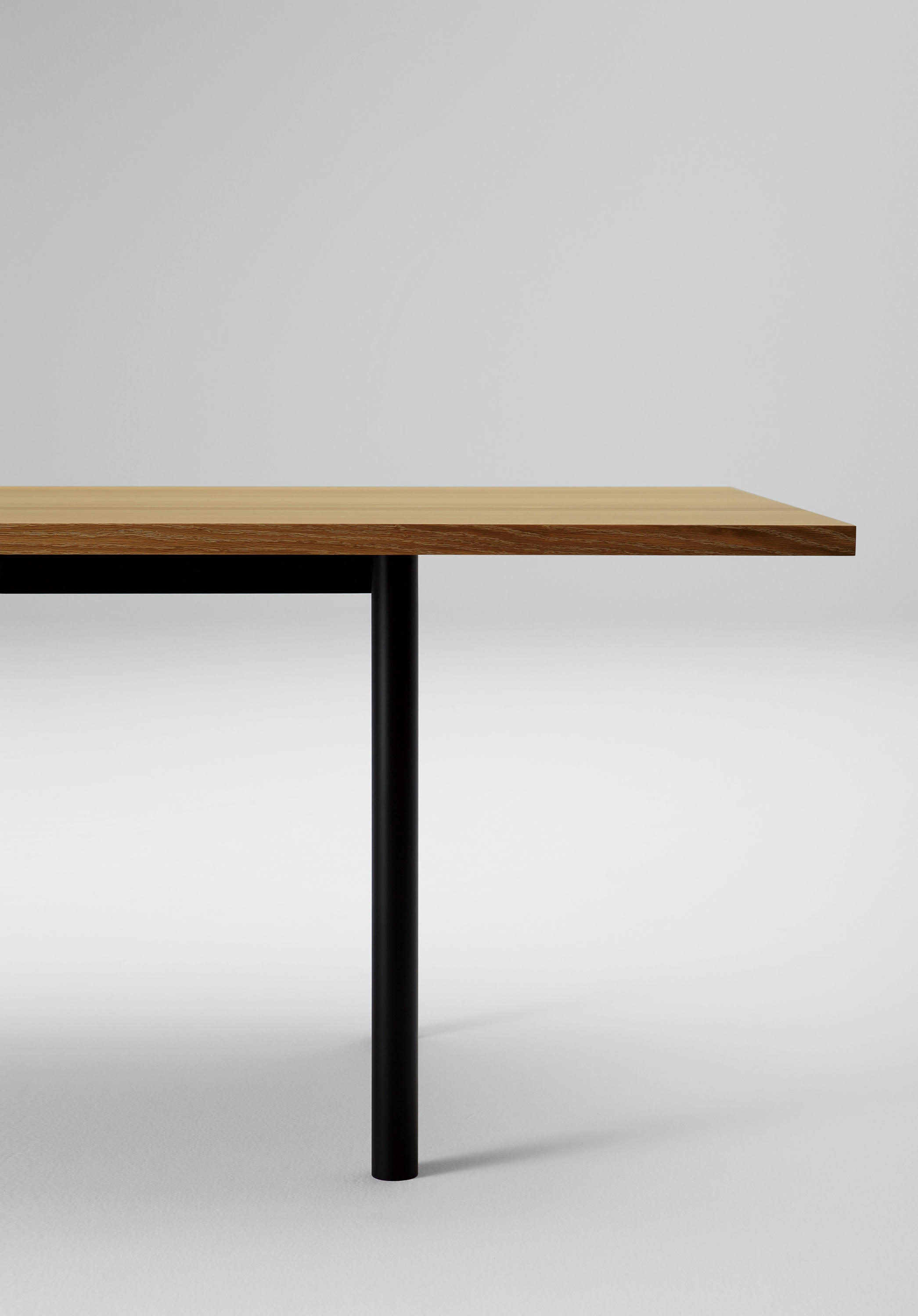 Malta Steel Leg Table 320 Low By Maruni