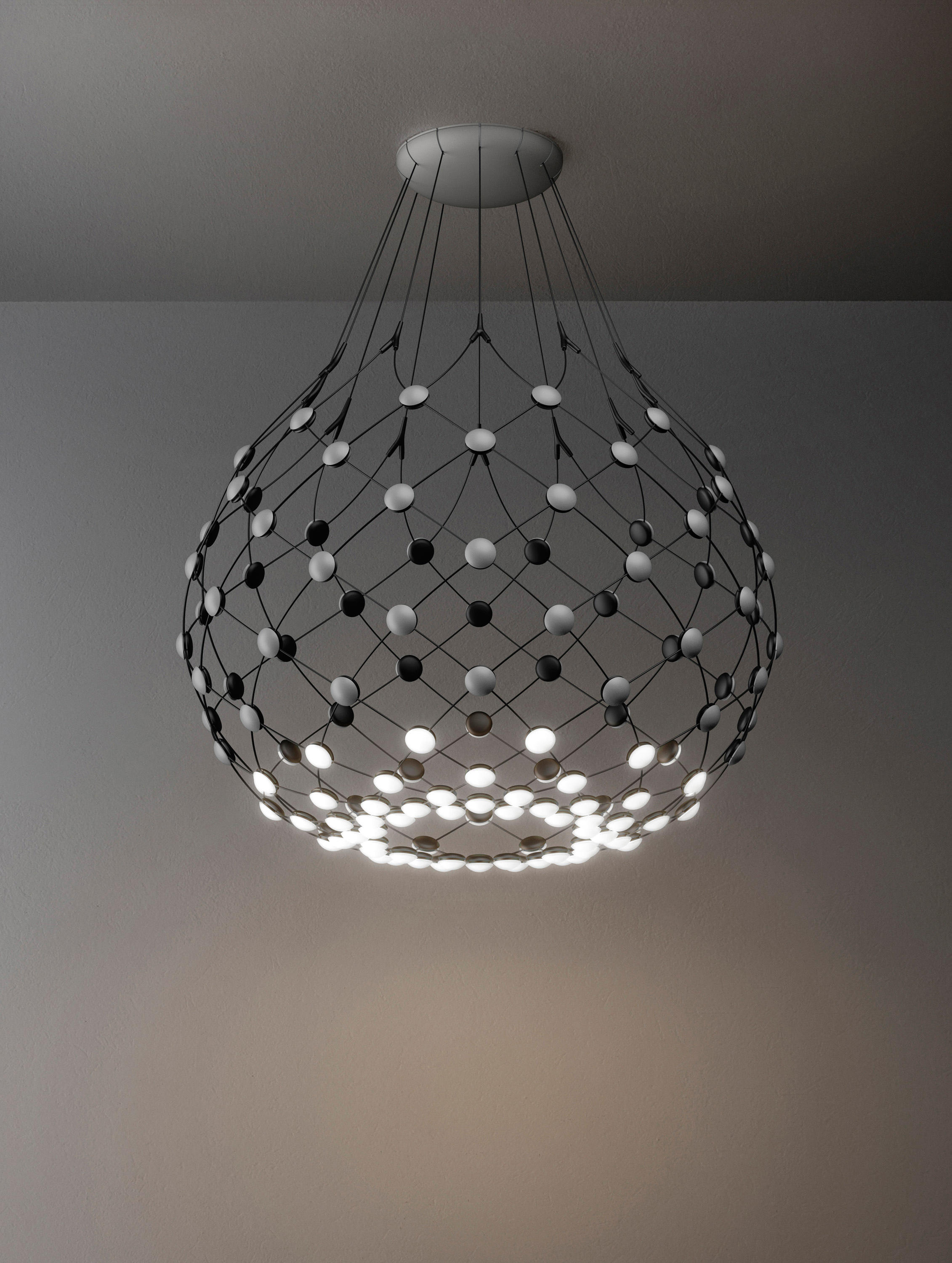 mesh general lighting from luceplan architonic. Black Bedroom Furniture Sets. Home Design Ideas
