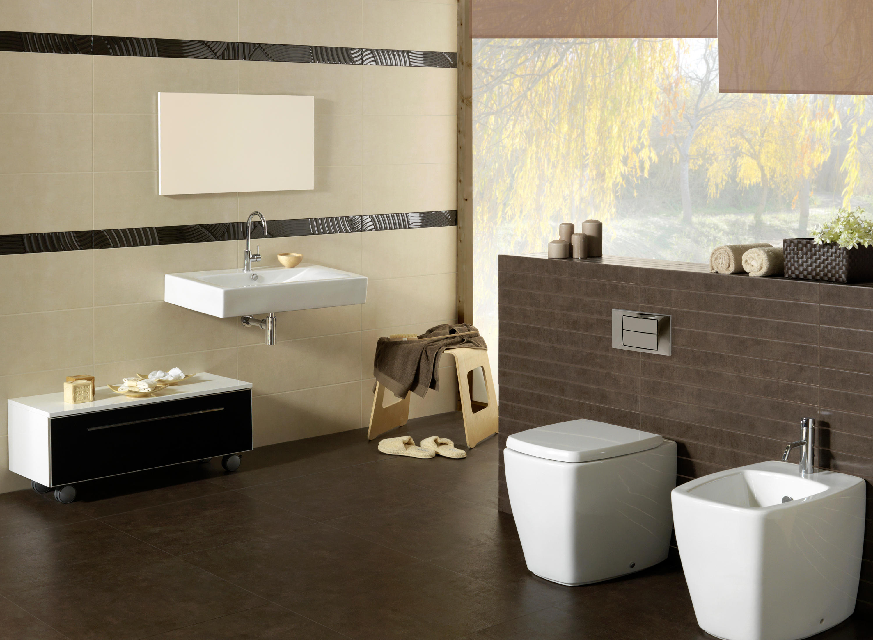 Living gris tiles from keraben architonic for Carrelage 20x20 marron