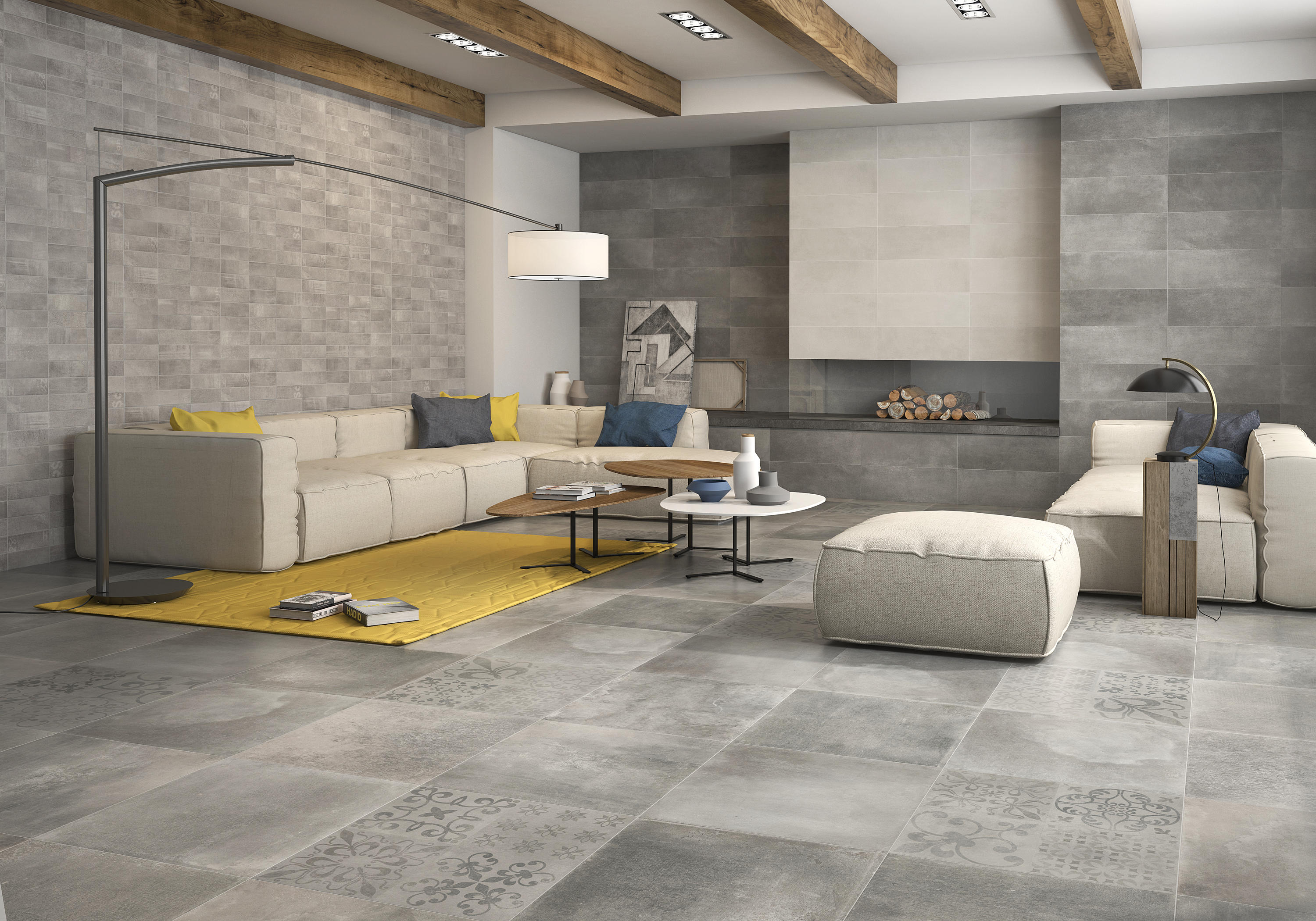 Priorat blanco tiles from keraben architonic for Carrelage 60 x 60 gris