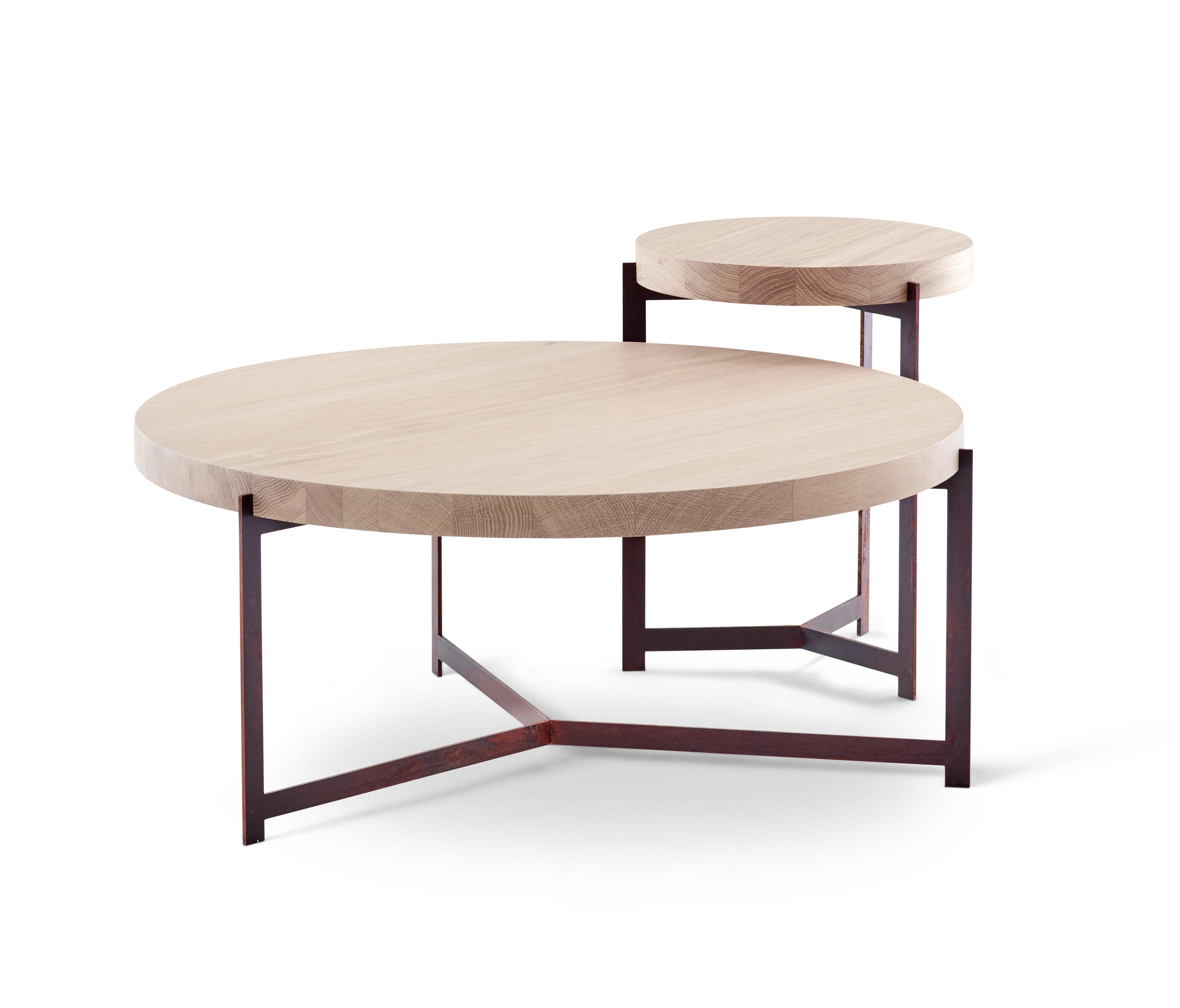 Plateau high side tables from dk3 architonic for Plateau table