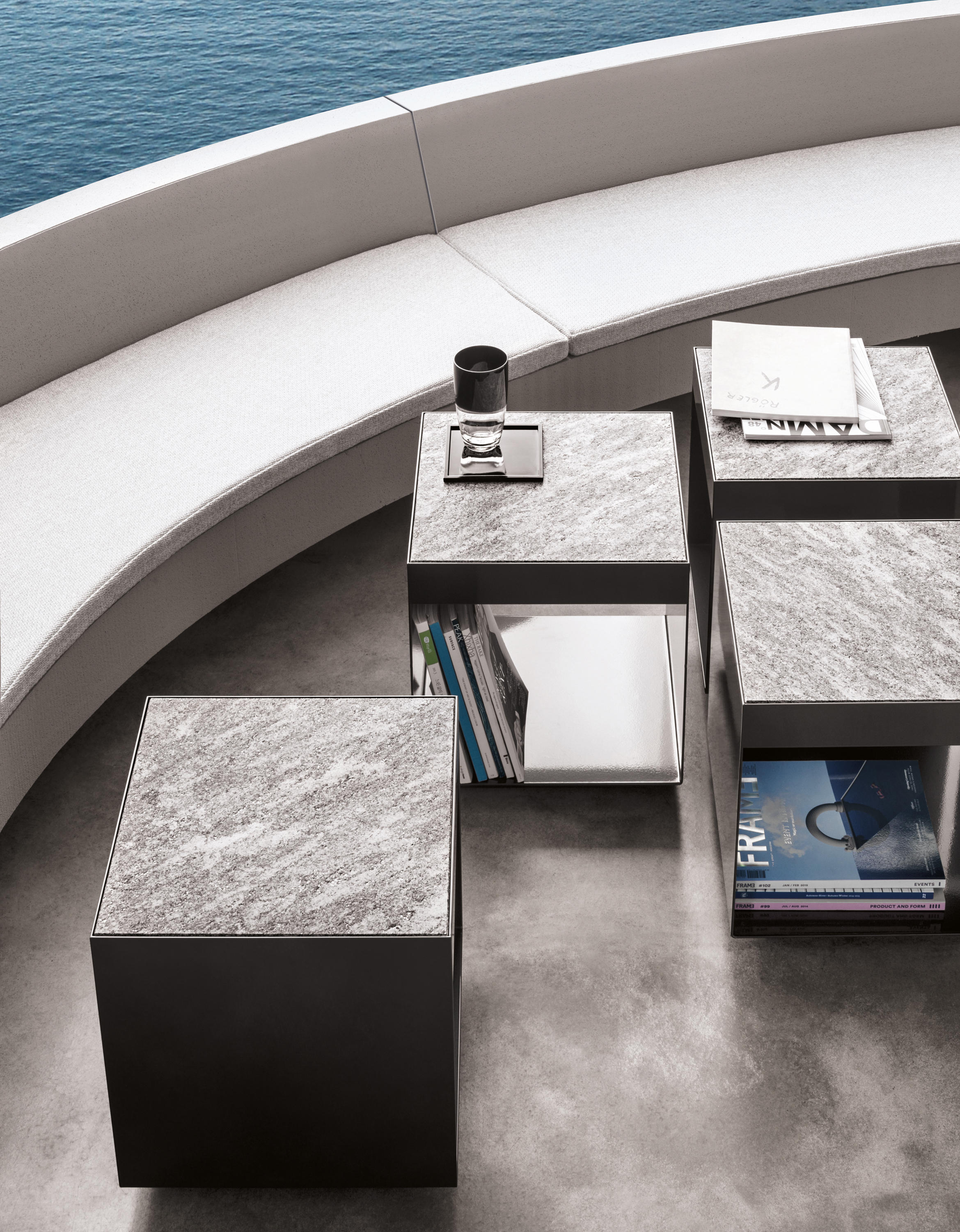 elliott outdoor coffee table coffee tables from minotti architonic