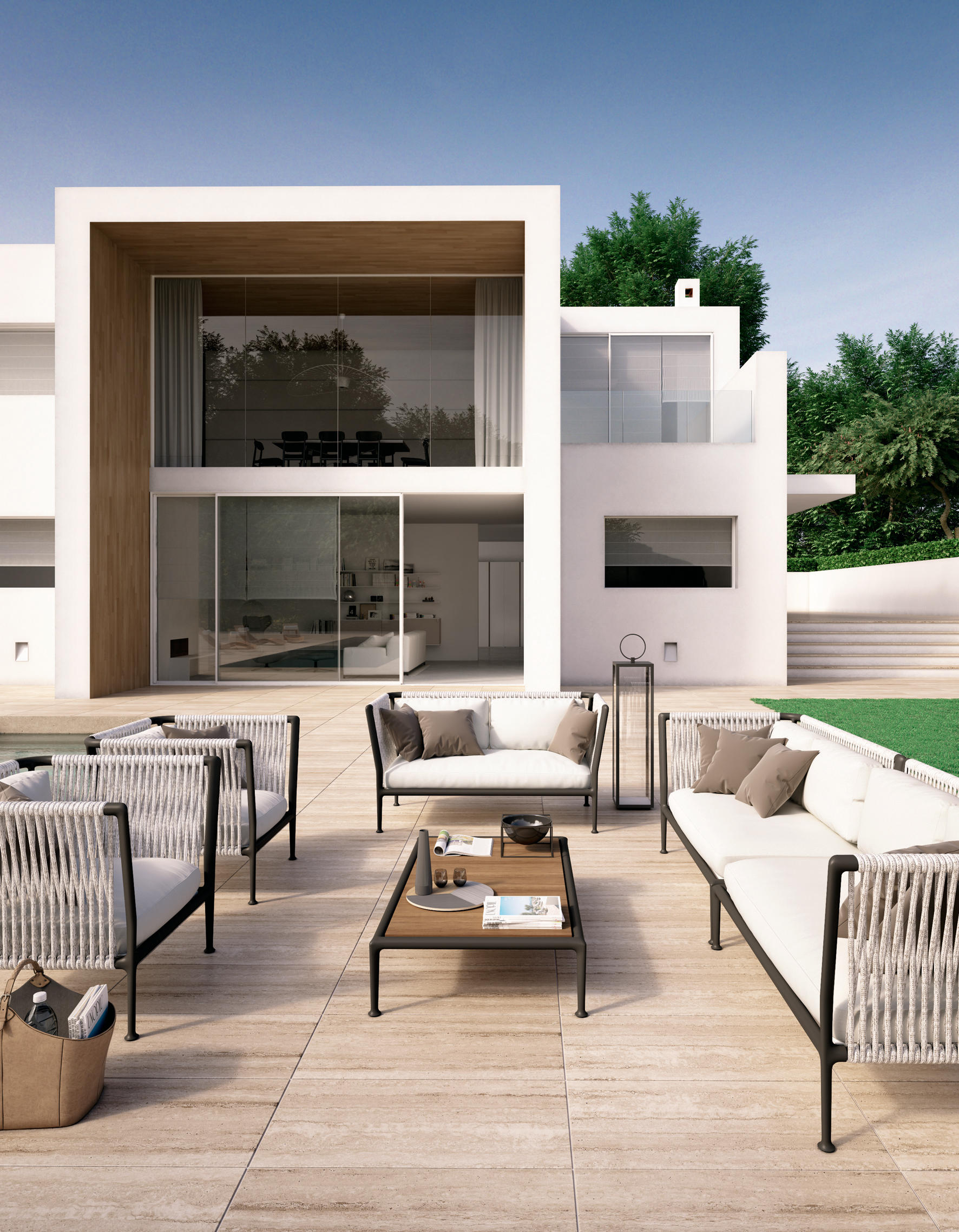 treble divano divani da giardino unopi architonic. Black Bedroom Furniture Sets. Home Design Ideas