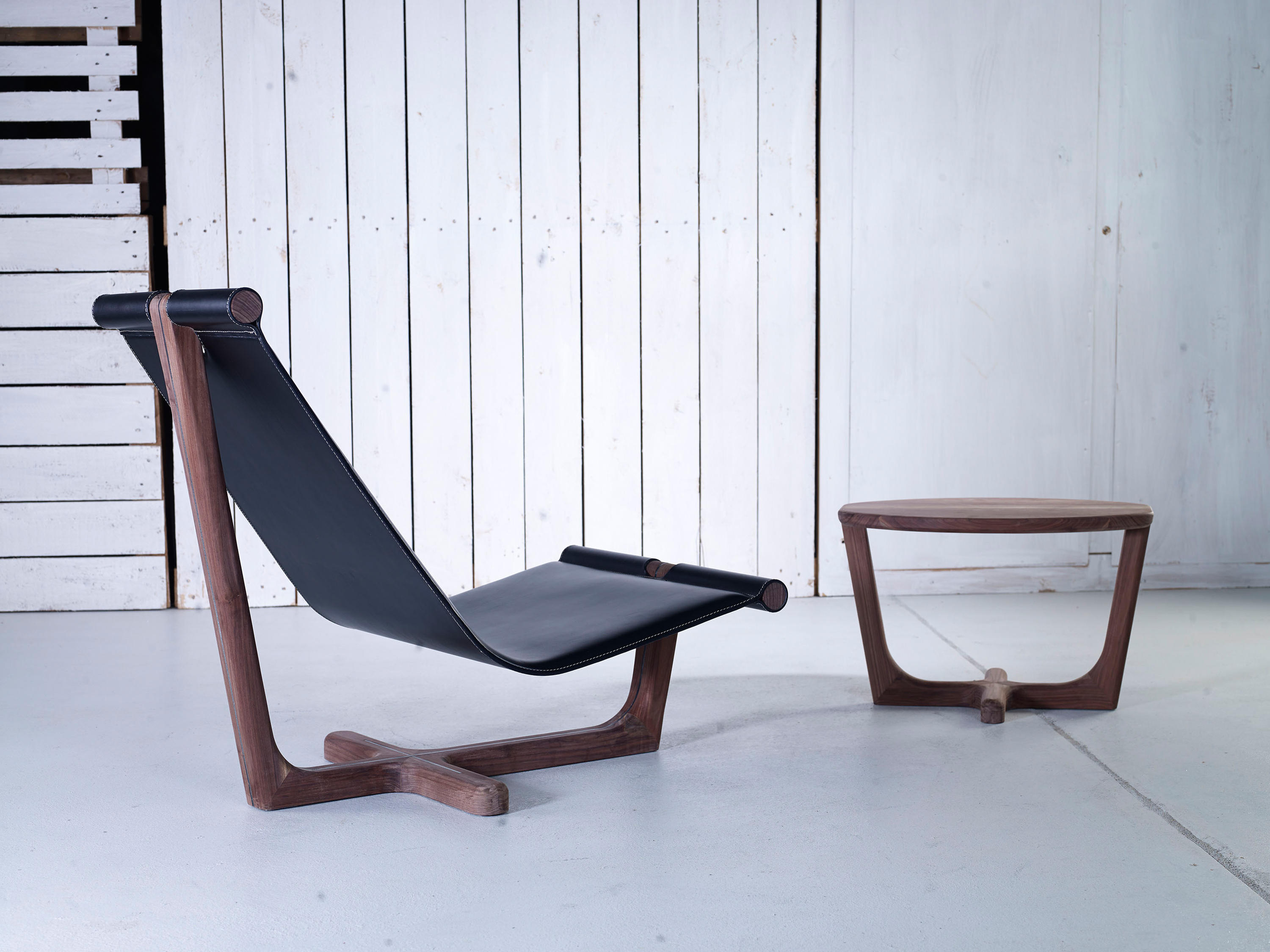 ... Armada High Armchair By Hookl Und Stool