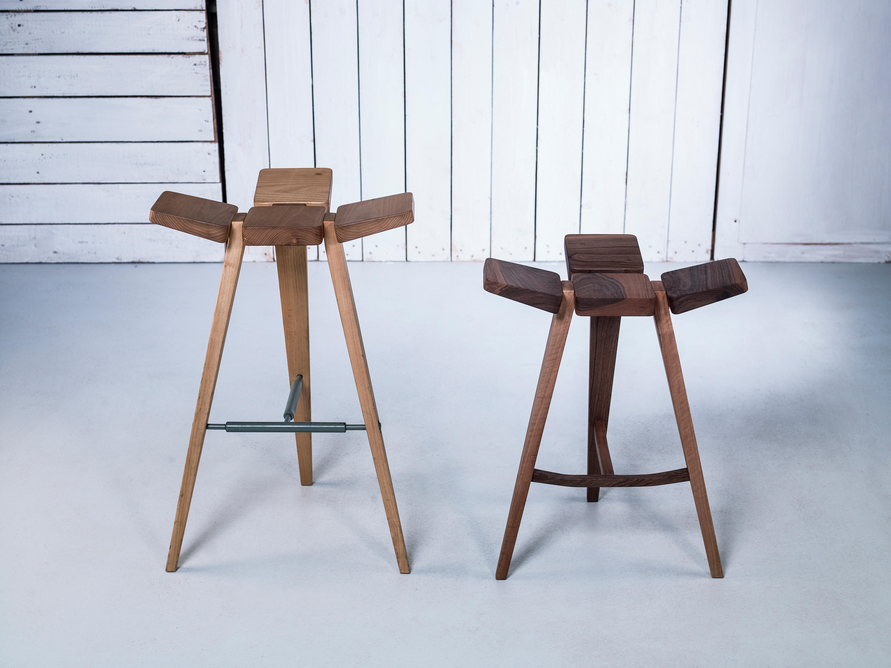 Clover Bar Stool Low By Hookl Und Stool ...