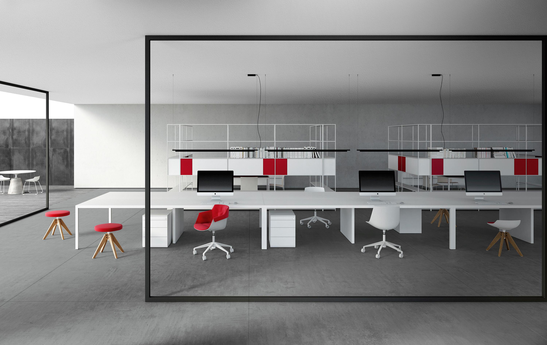 Desk 3 0 desks from mdf italia architonic for Office design italia srl
