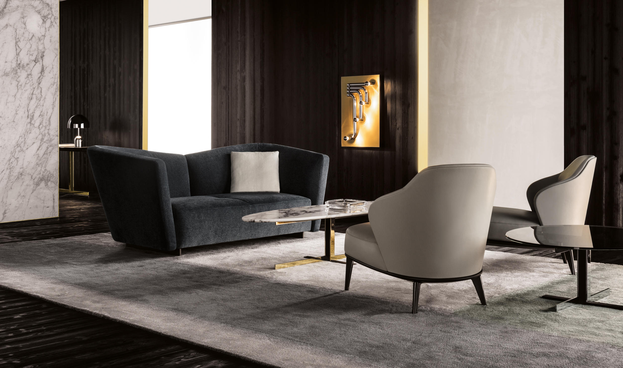 Lounge Seymour By Minotti ...