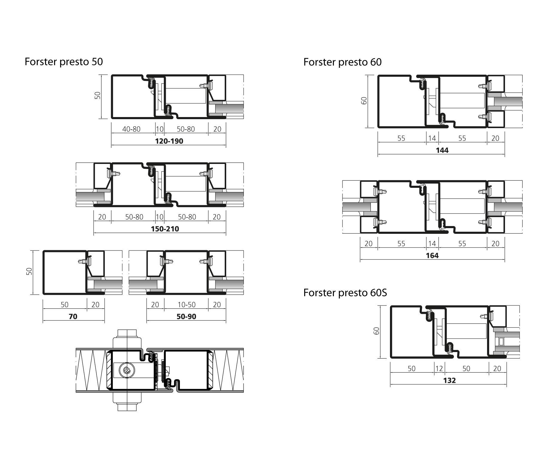 ... Forster Presto E30 | Brandschutztür Von Forster Profile Systems