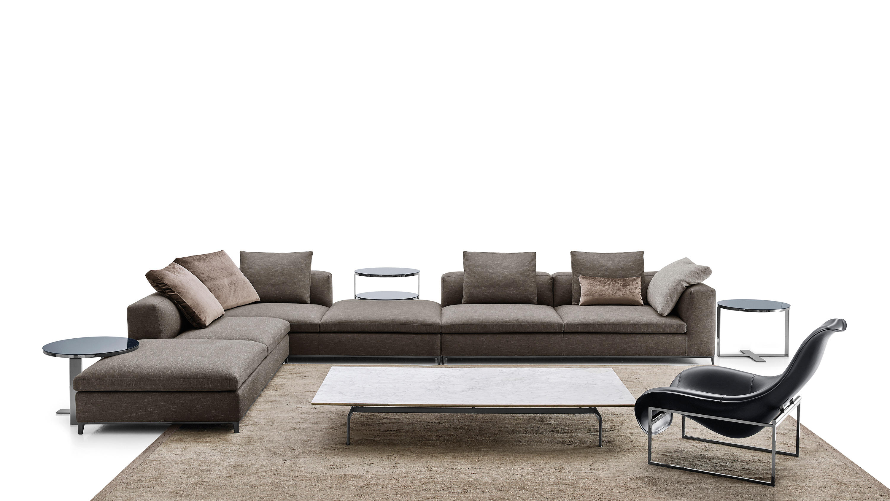 Michel club sofas from b b italia architonic for B en b italia