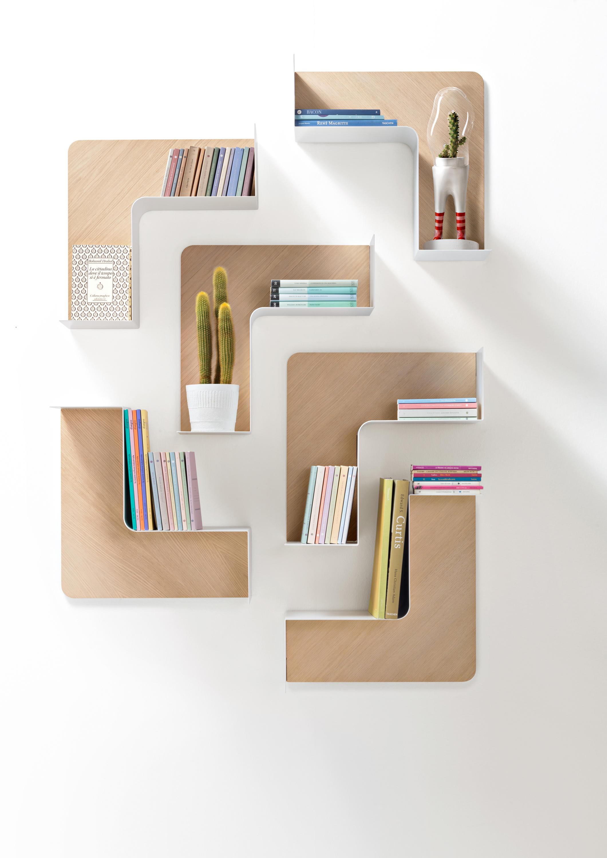 Fishbone fbbrx moduli libreria b line architonic for Moduli libreria