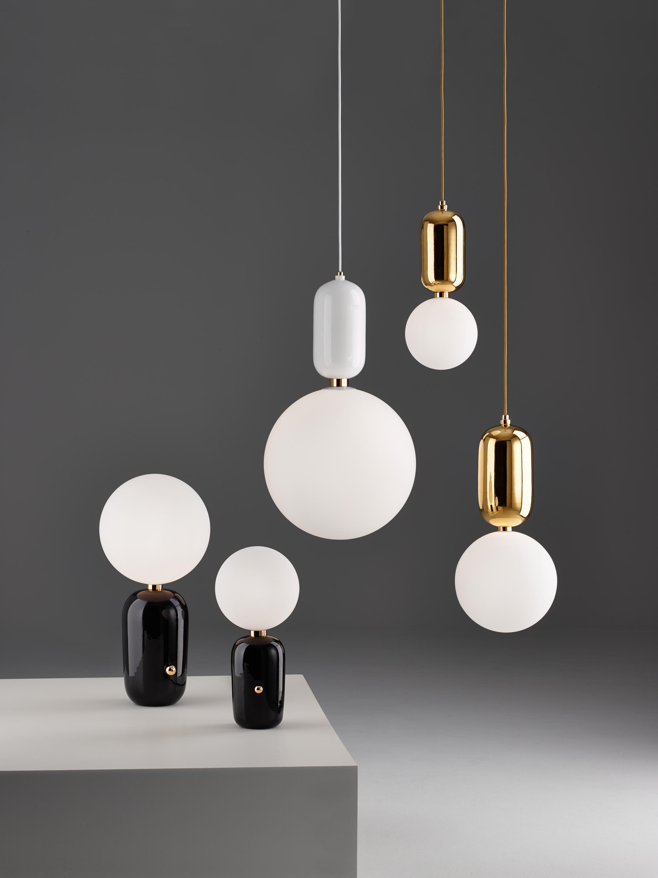 Aballs T Pe Suspended Lights From Parachilna Architonic