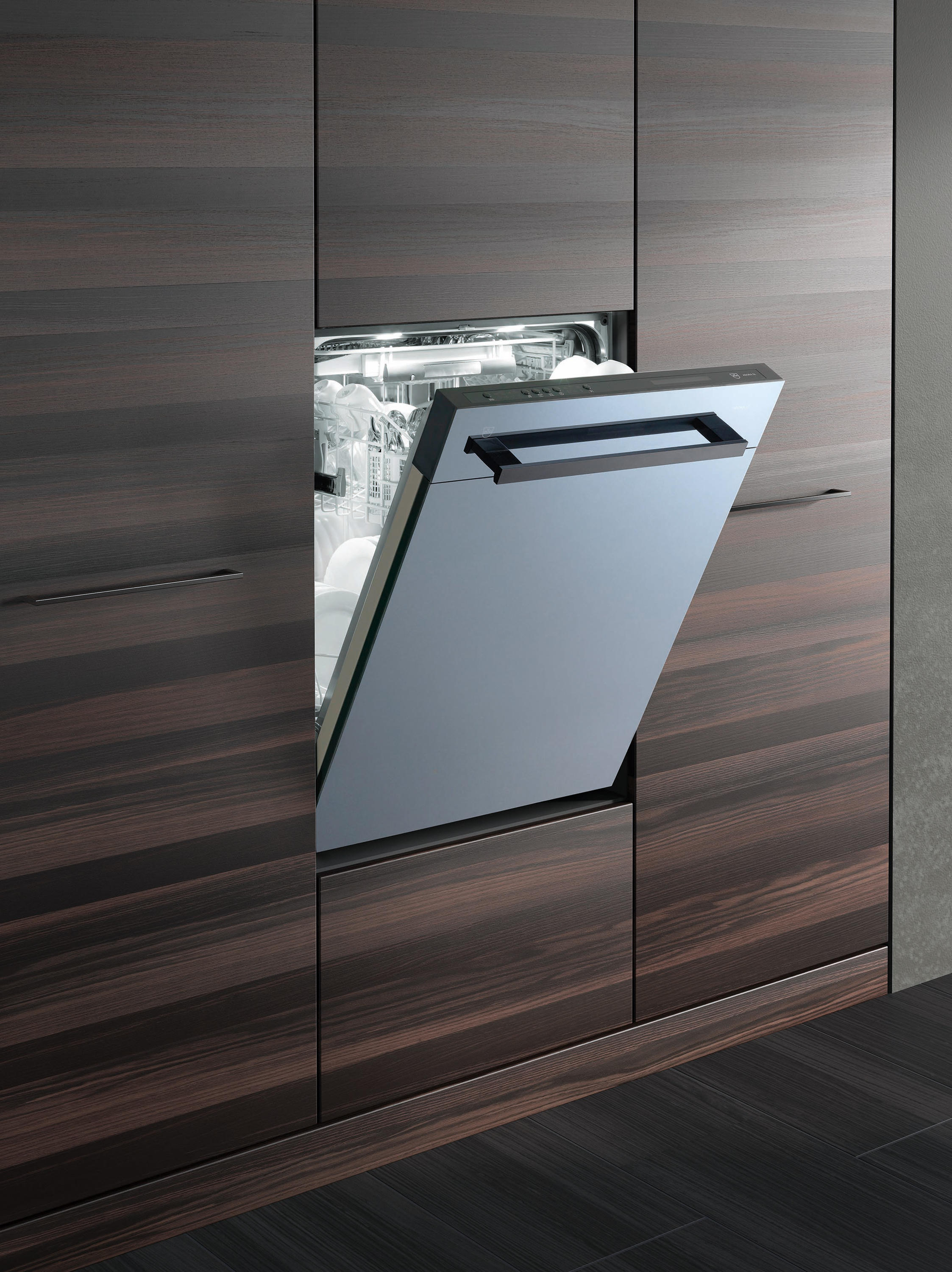 dishwasher adora handle black dishwashers from v zug architonic. Black Bedroom Furniture Sets. Home Design Ideas