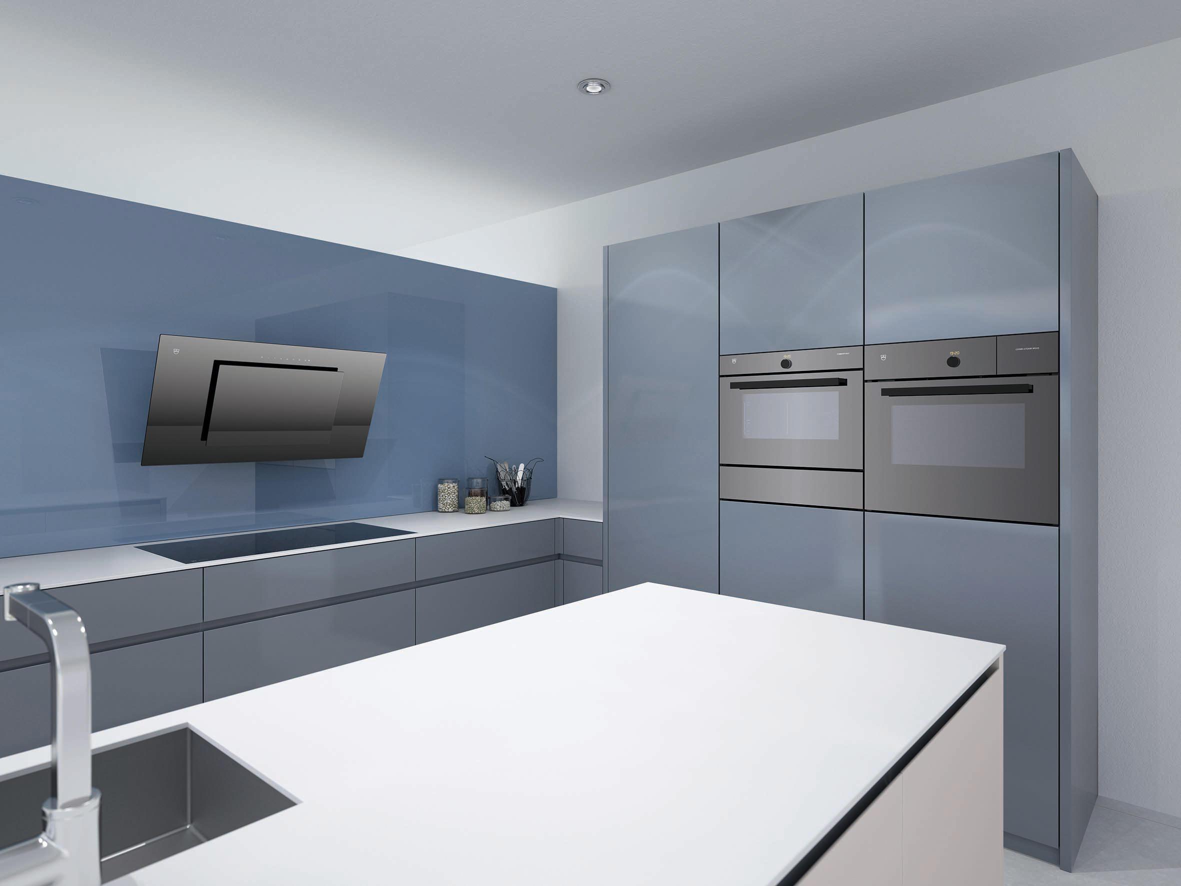 designer wall hood dwvhr9g extractors from v zug architonic. Black Bedroom Furniture Sets. Home Design Ideas