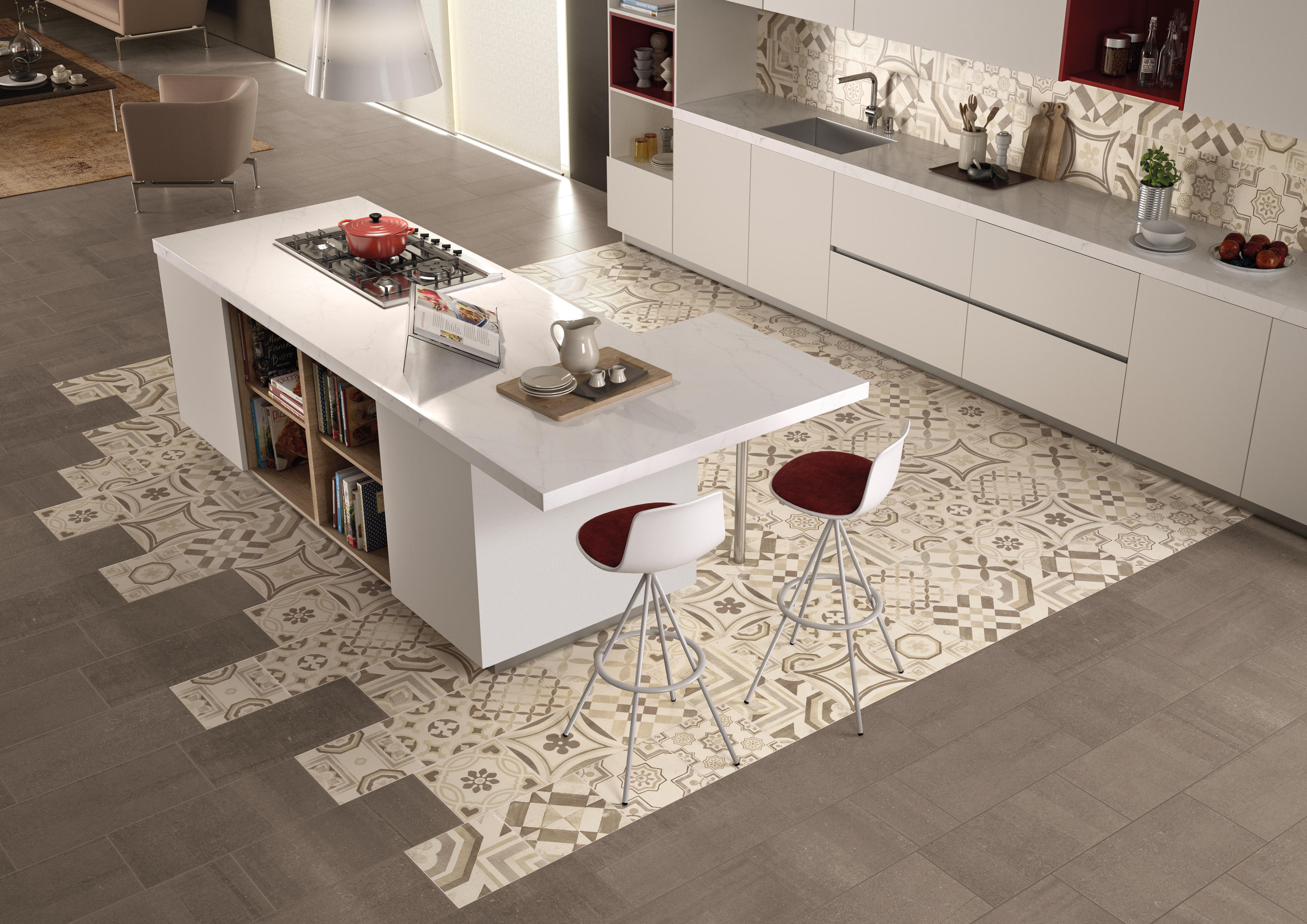 Cementine cold ceramic tiles from keope architonic