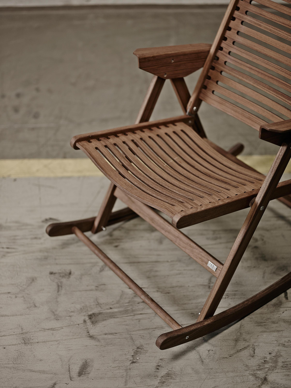 Sensational Rex Rocking Chair Dark Brown Architonic Andrewgaddart Wooden Chair Designs For Living Room Andrewgaddartcom