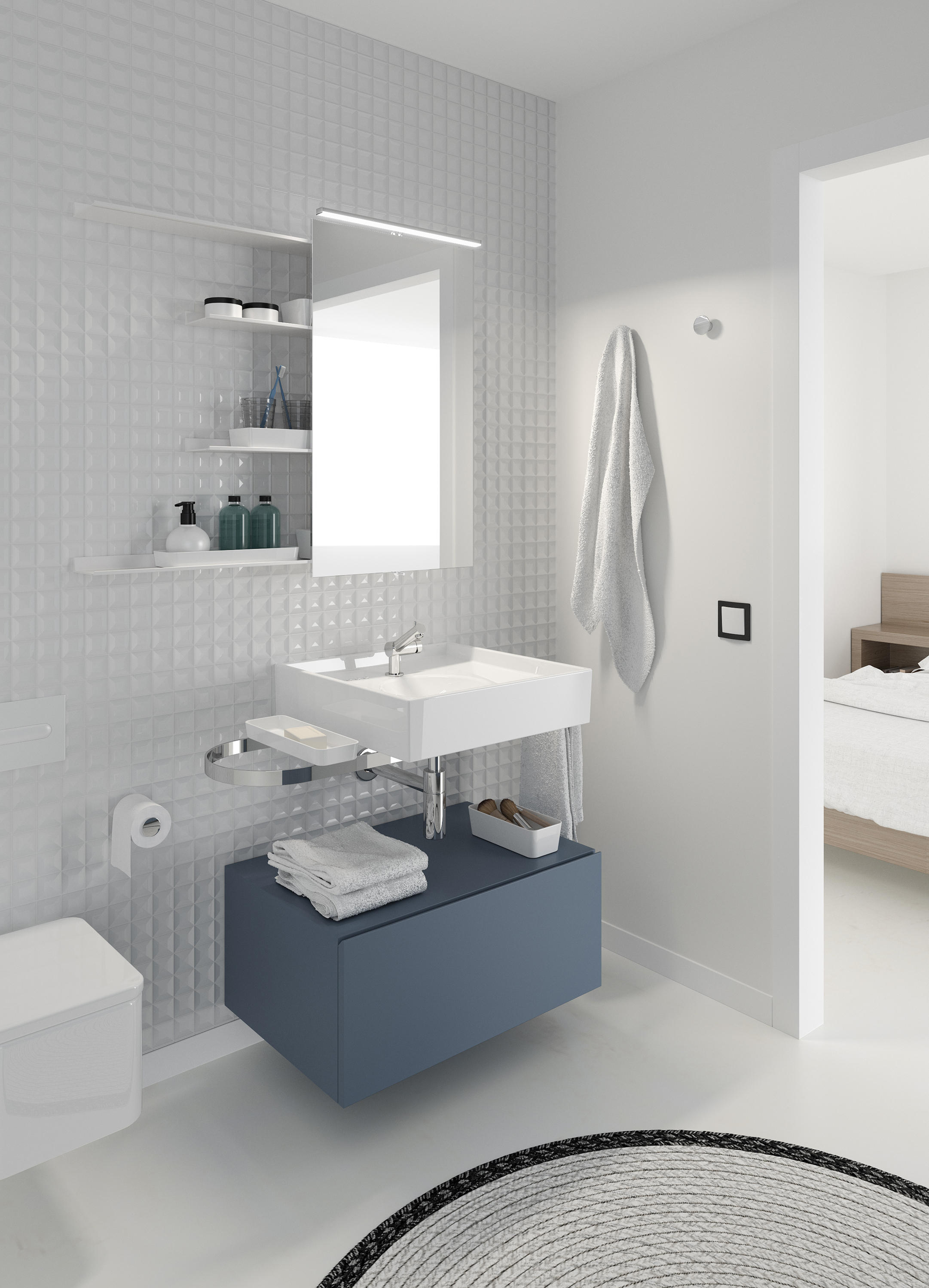Global Container Bath Shelves From Cosmic Architonic