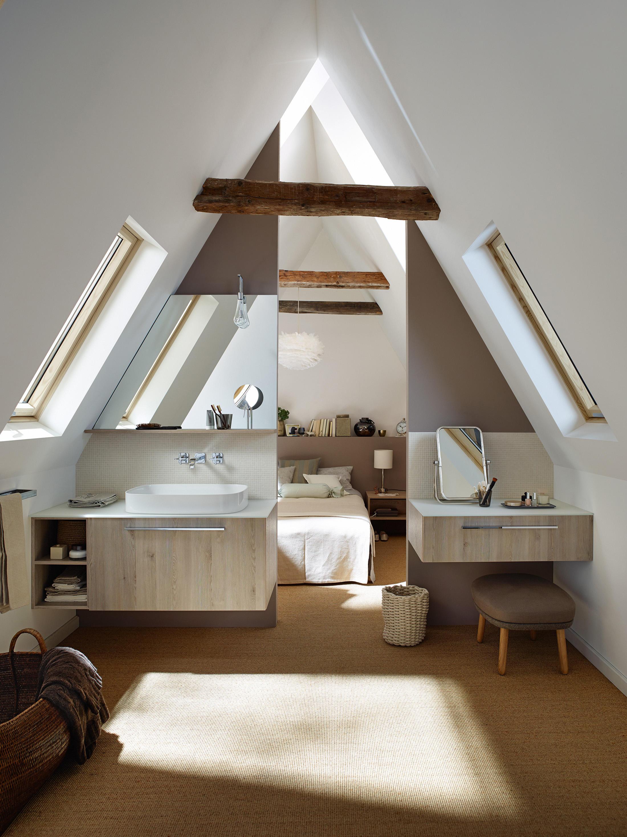 Wunderschön Spiegel Für Dachschräge Dekoration Von Sys30   S-waschtisch Von Burgbad