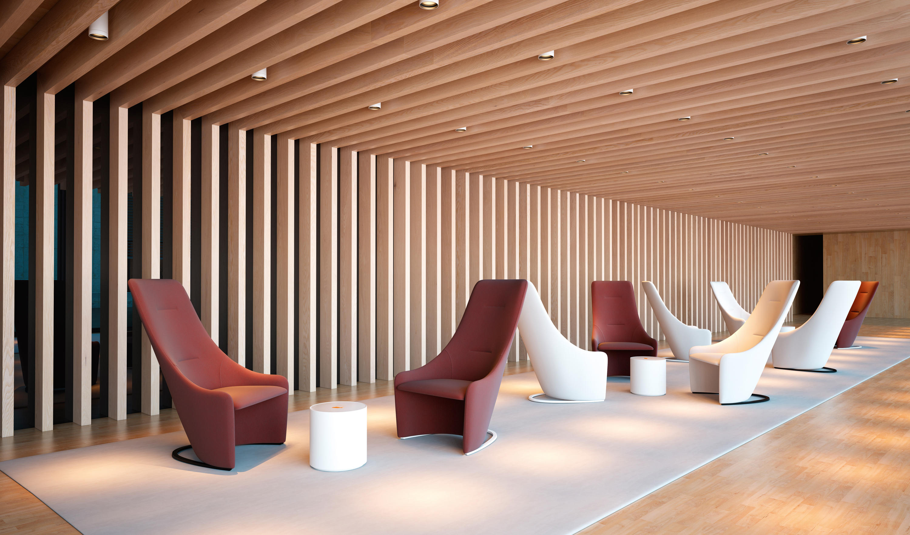 Nagi Armchairs From Viccarbe Architonic