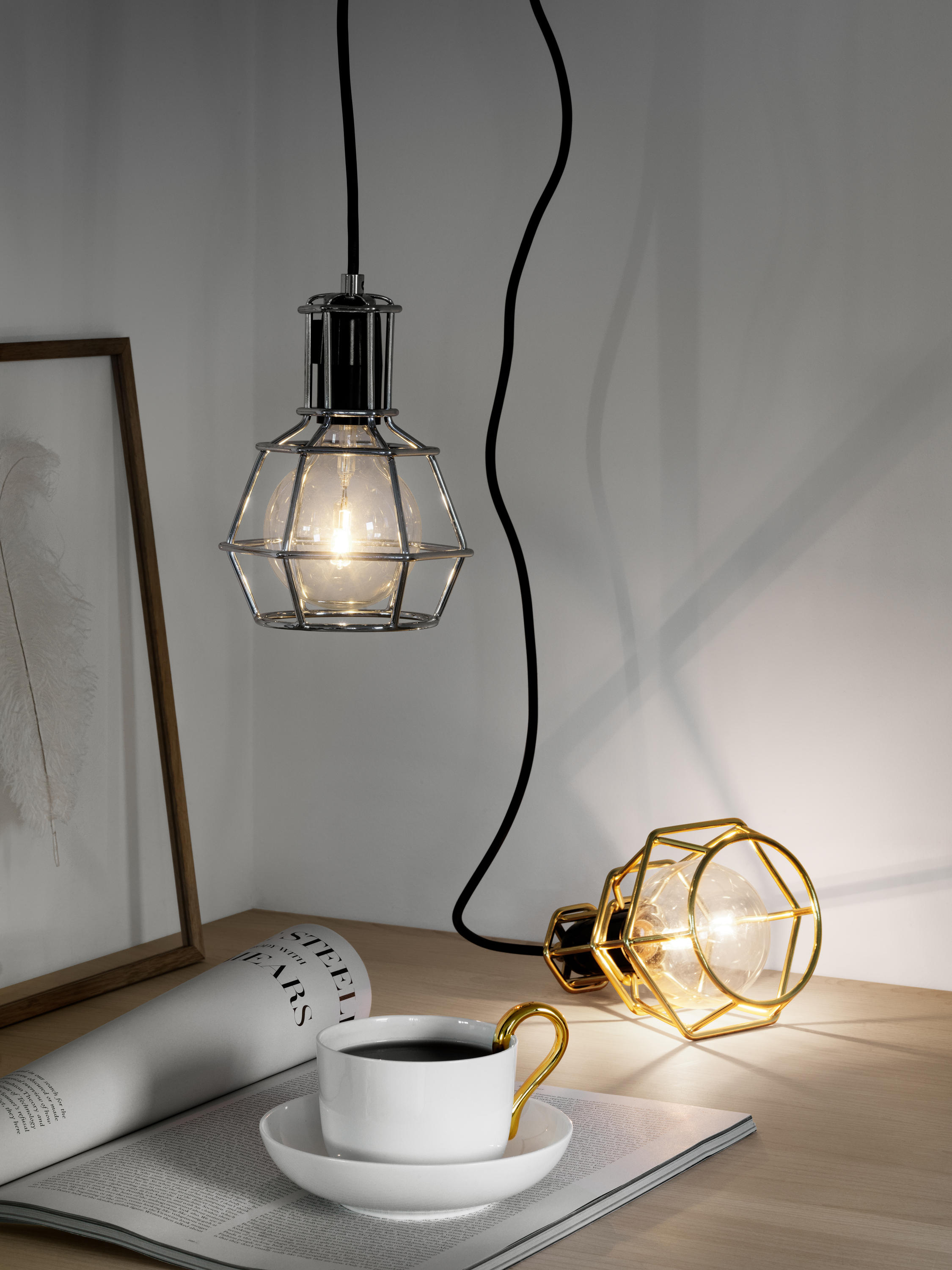 work lamp general lighting from design house stockholm. Black Bedroom Furniture Sets. Home Design Ideas