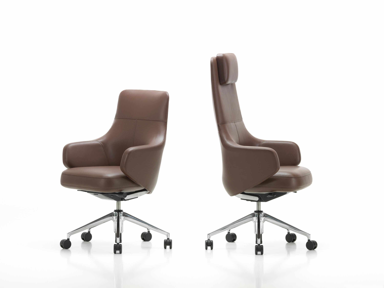 Sedie Ufficio Vitra : Grand executive highback sedie ufficio vitra architonic