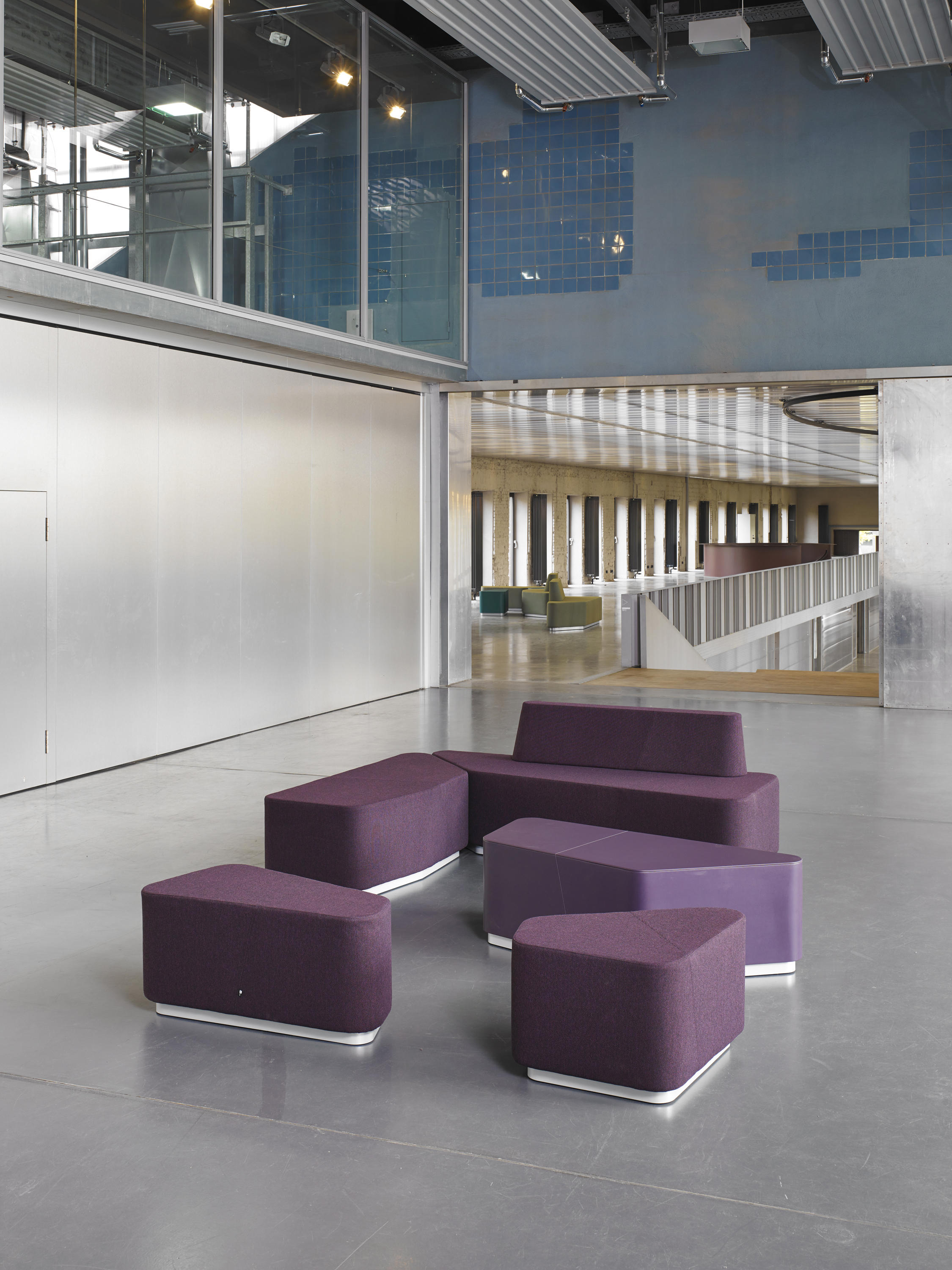 Organic Office Lounge Modules Sofas From Viasit Architonic
