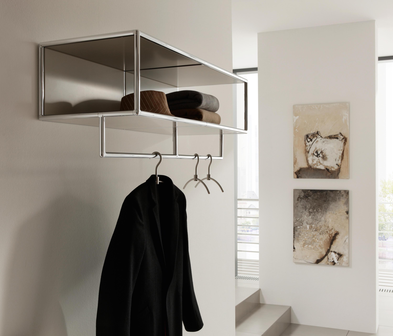 wall mounted wardrobe portemanteaux suspendus de dauphin home architonic. Black Bedroom Furniture Sets. Home Design Ideas