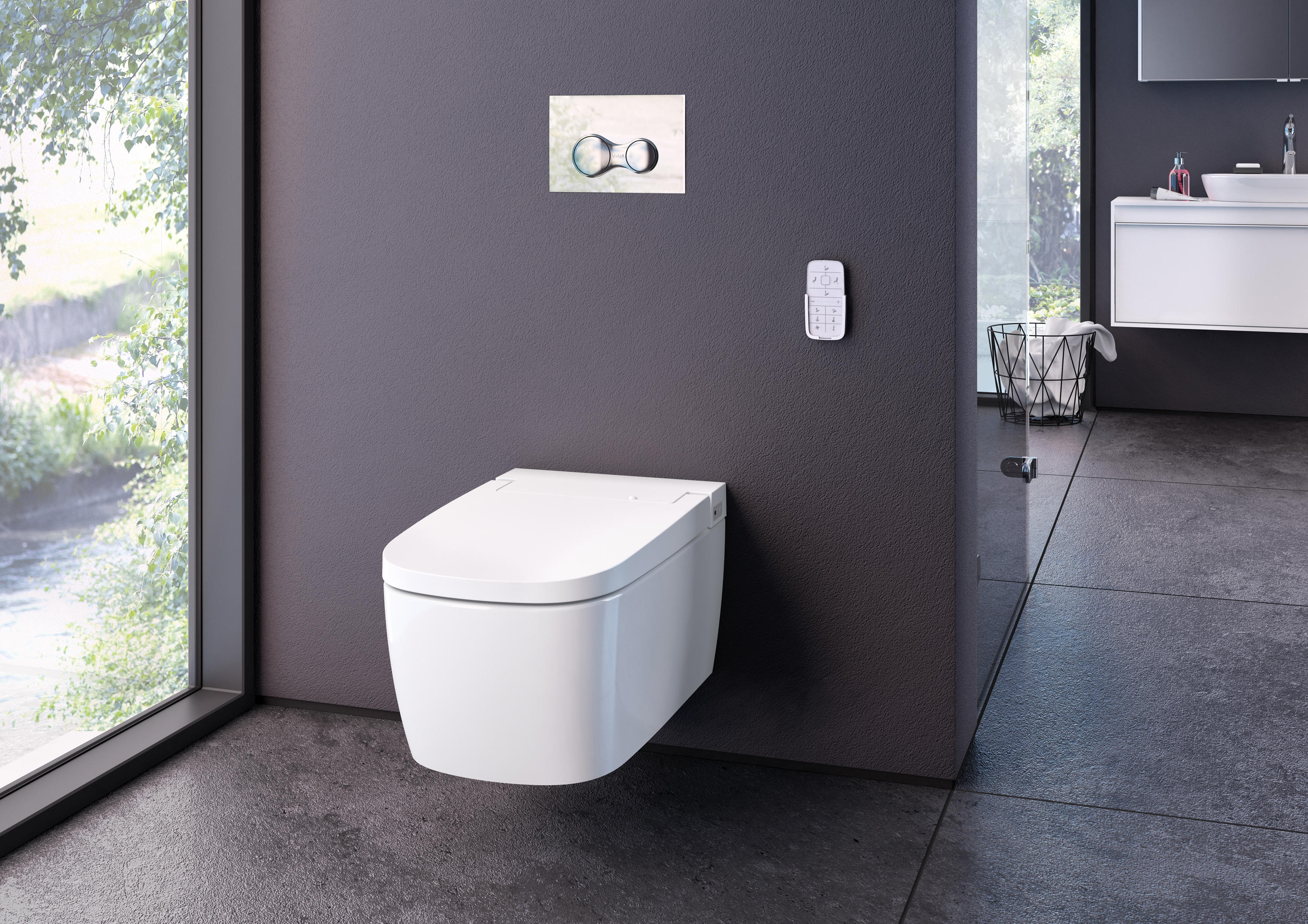 v care wand wc klosetts von vitra bad architonic. Black Bedroom Furniture Sets. Home Design Ideas