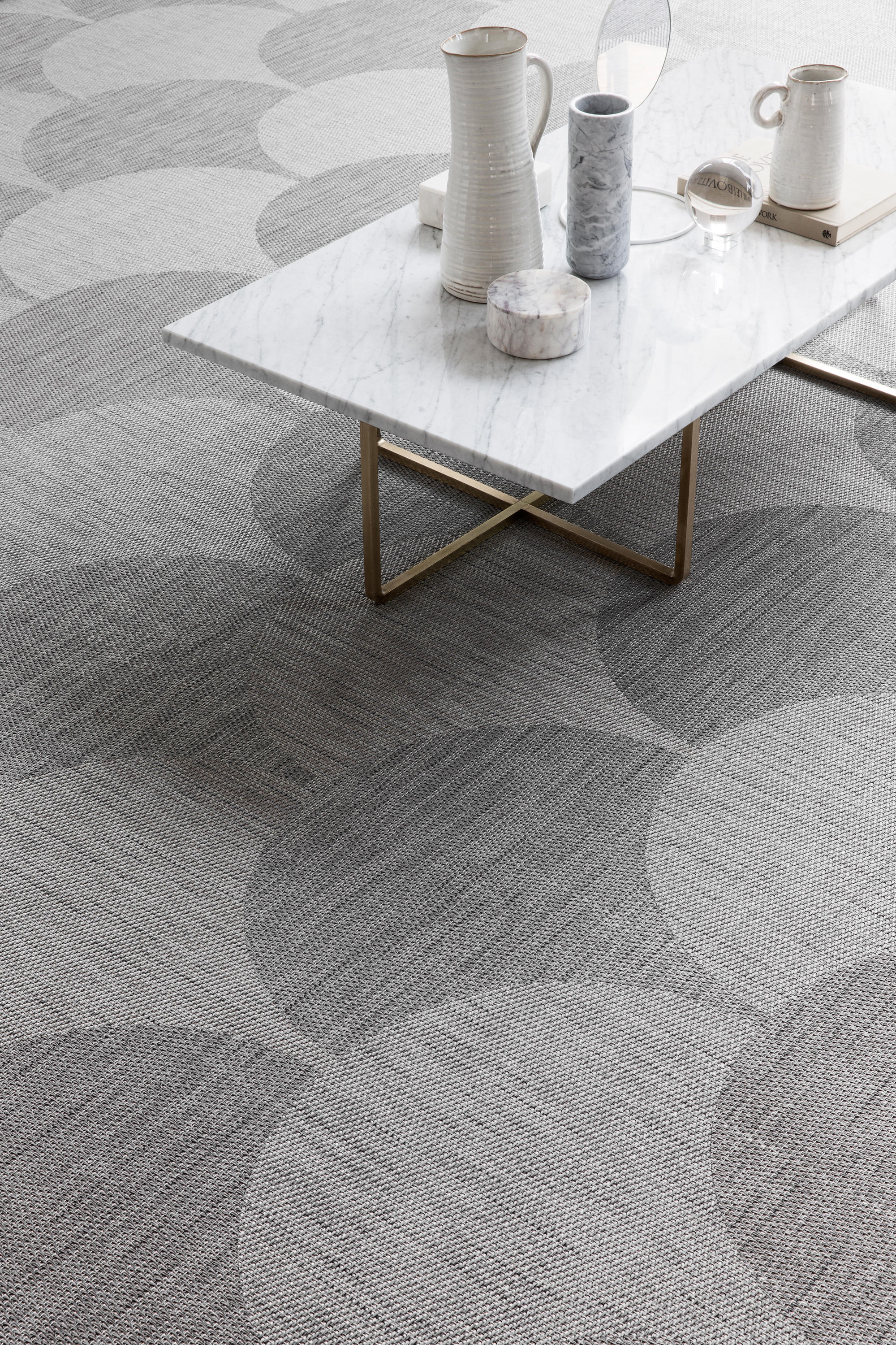 Flow Alga Silver Carpet Tiles From Bolon Architonic
