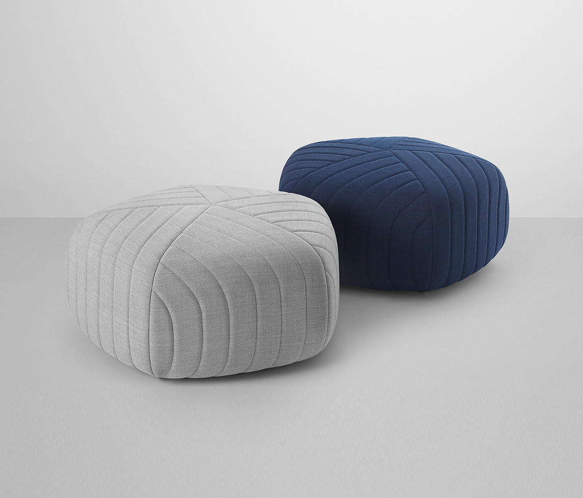 five pouf poufs from muuto architonic. Black Bedroom Furniture Sets. Home Design Ideas