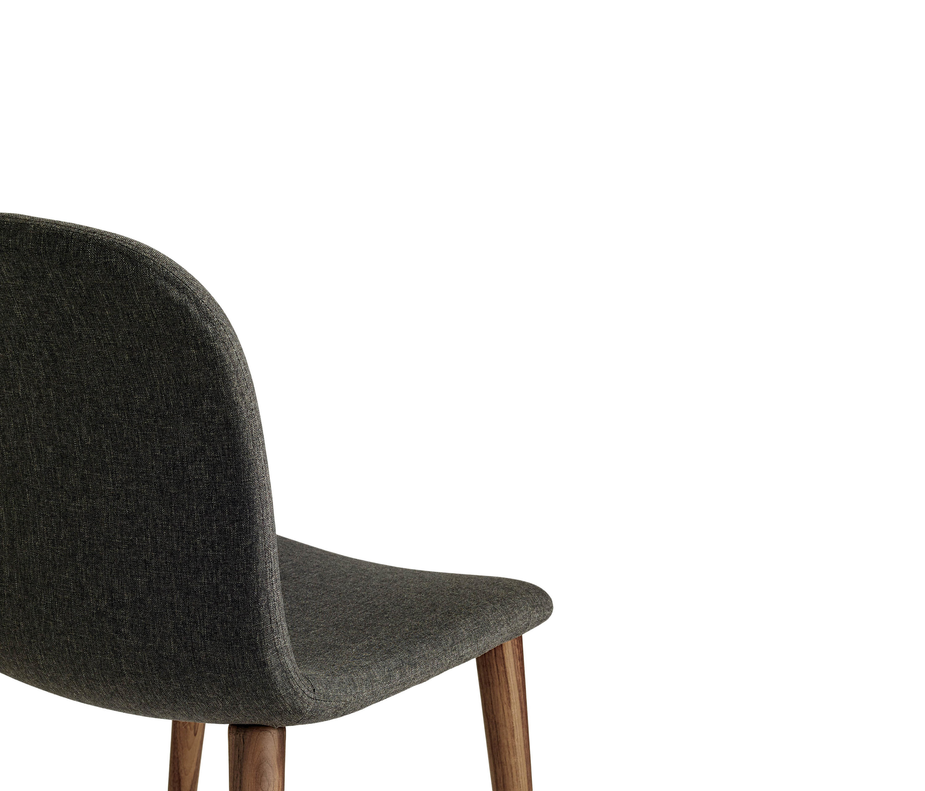 Bacco Chair In Fabric Walnut Legs Chairs From Design