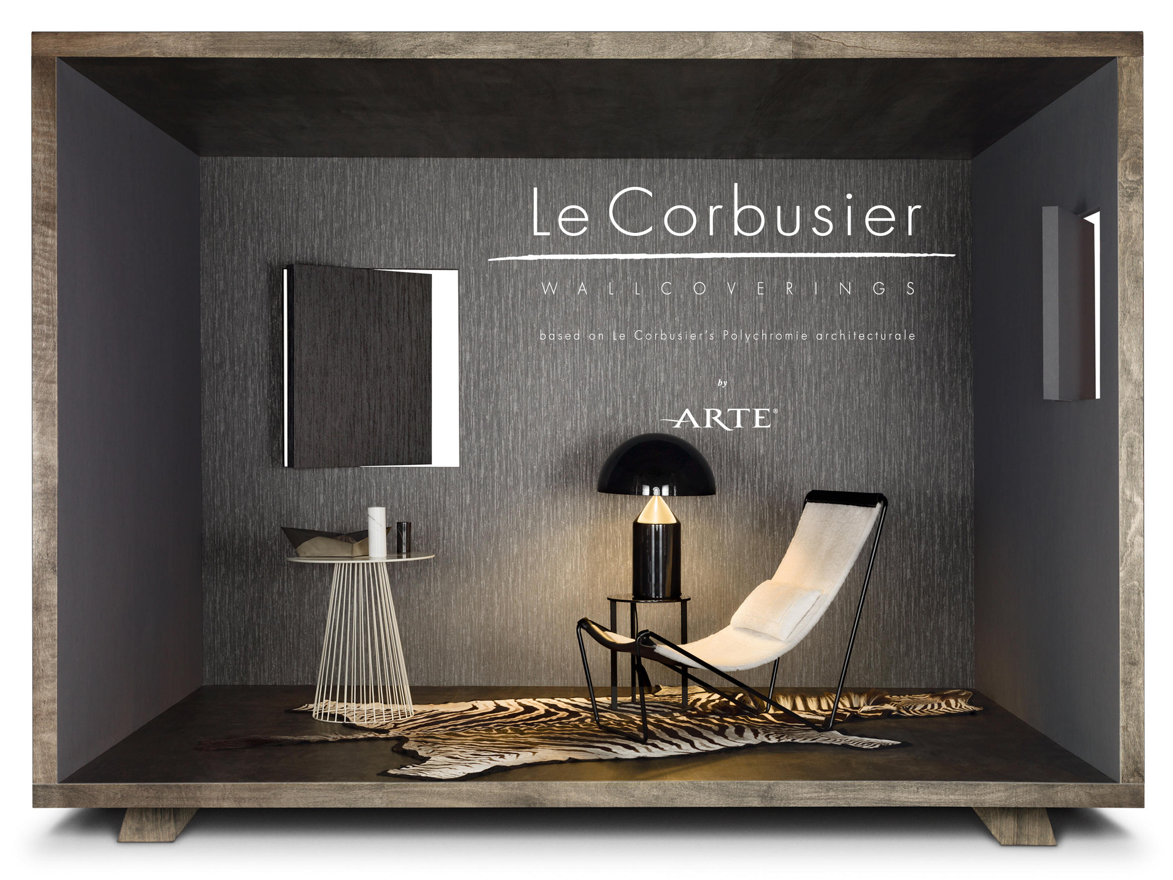 le corbusier stone carta da parati carta da parati. Black Bedroom Furniture Sets. Home Design Ideas
