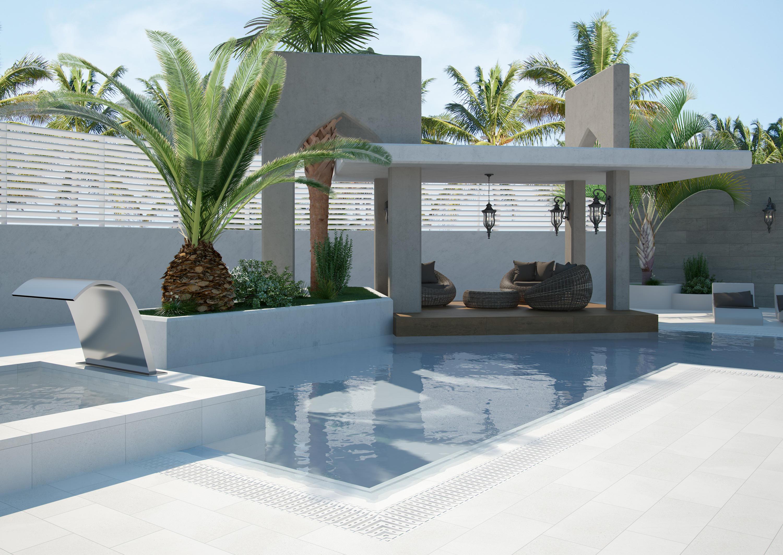 Baldosas para exterior de piscinas awesome precios de for Baldosas de exterior