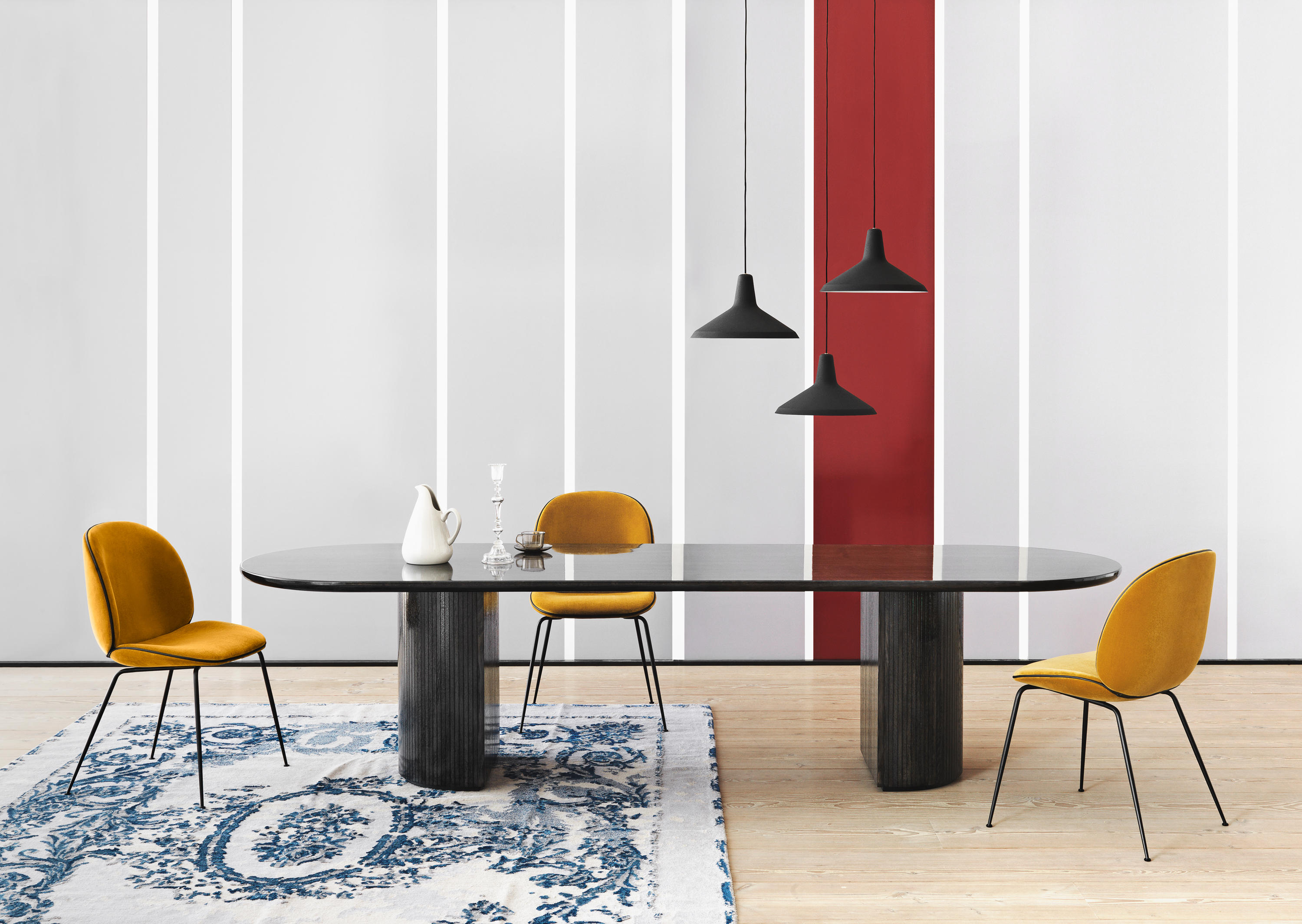 Moon Dining Table Dining Tables From Gubi Architonic