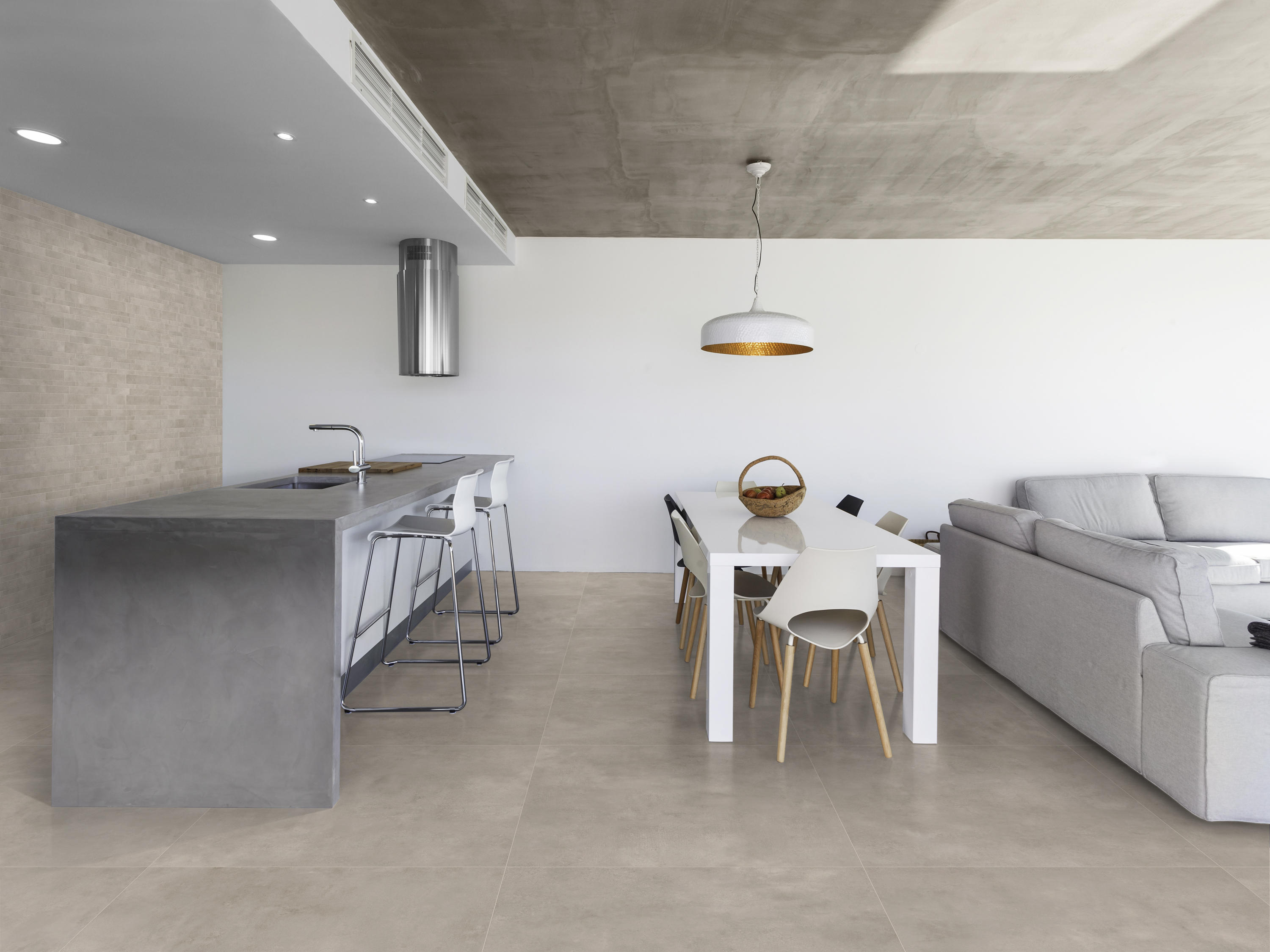 Industry titanium tiles from ceramica magica architonic for Carrelage 90x90 gris