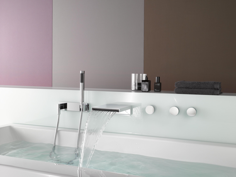 Deque waschtisch einhandbatterie waschtischarmaturen von dornbracht architonic for Rubinetti a parete bagno