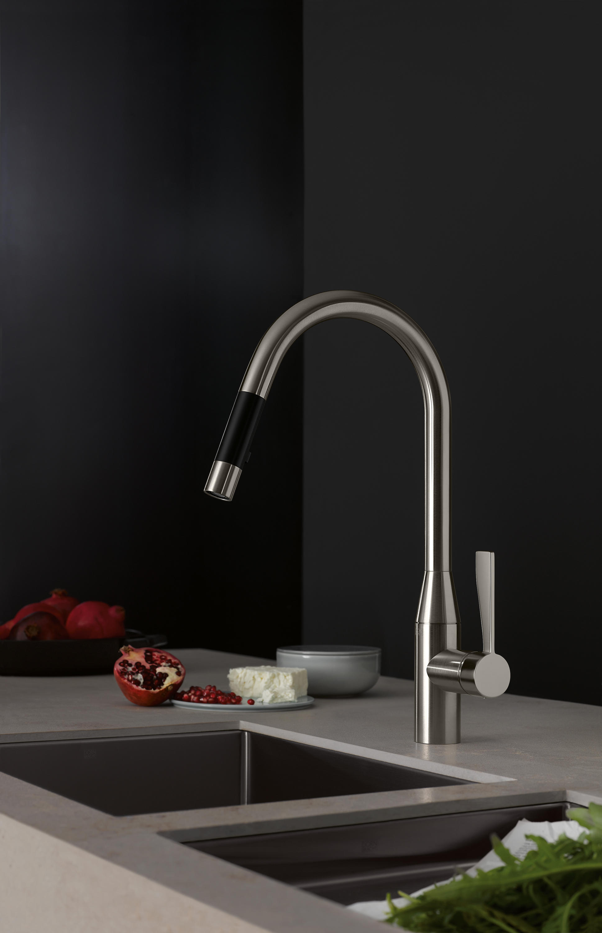 SYNC - SINGLE-LEVER MIXER PULL-DOWN - Kitchen taps from ...