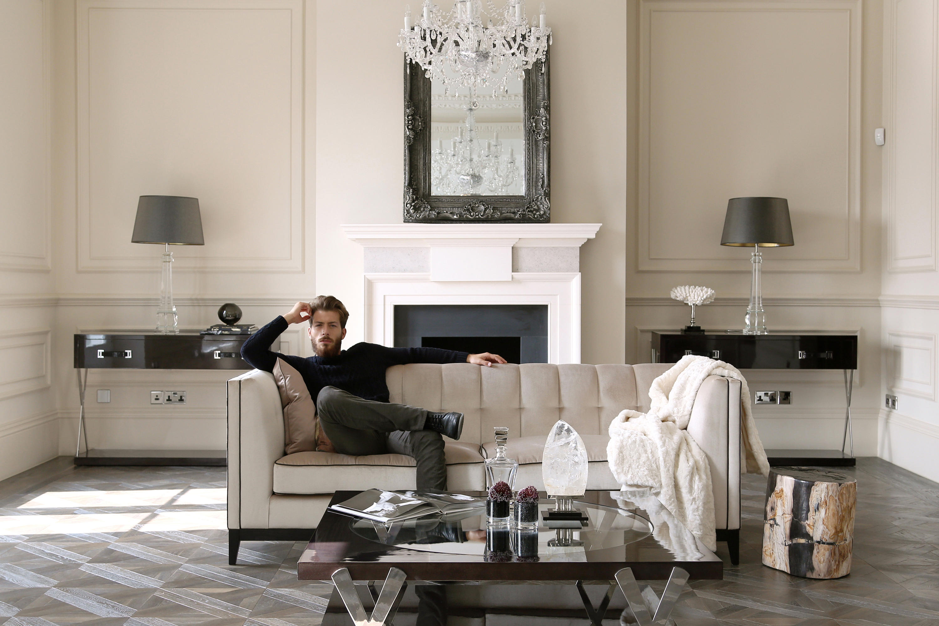 Alexander Sofa By The Chair Company