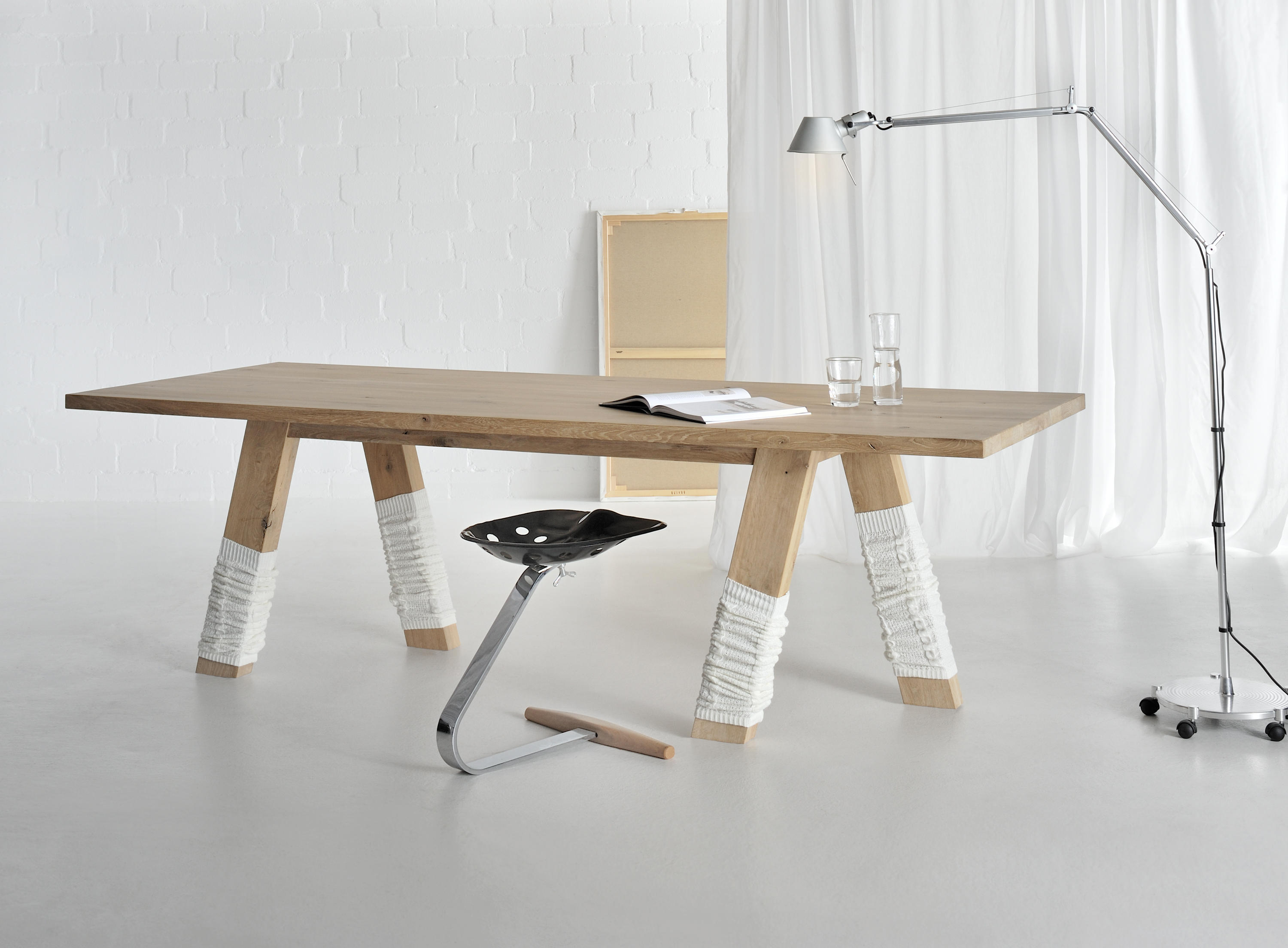 Go table restaurant tables from vitamin design architonic for Vitamin design tisch living
