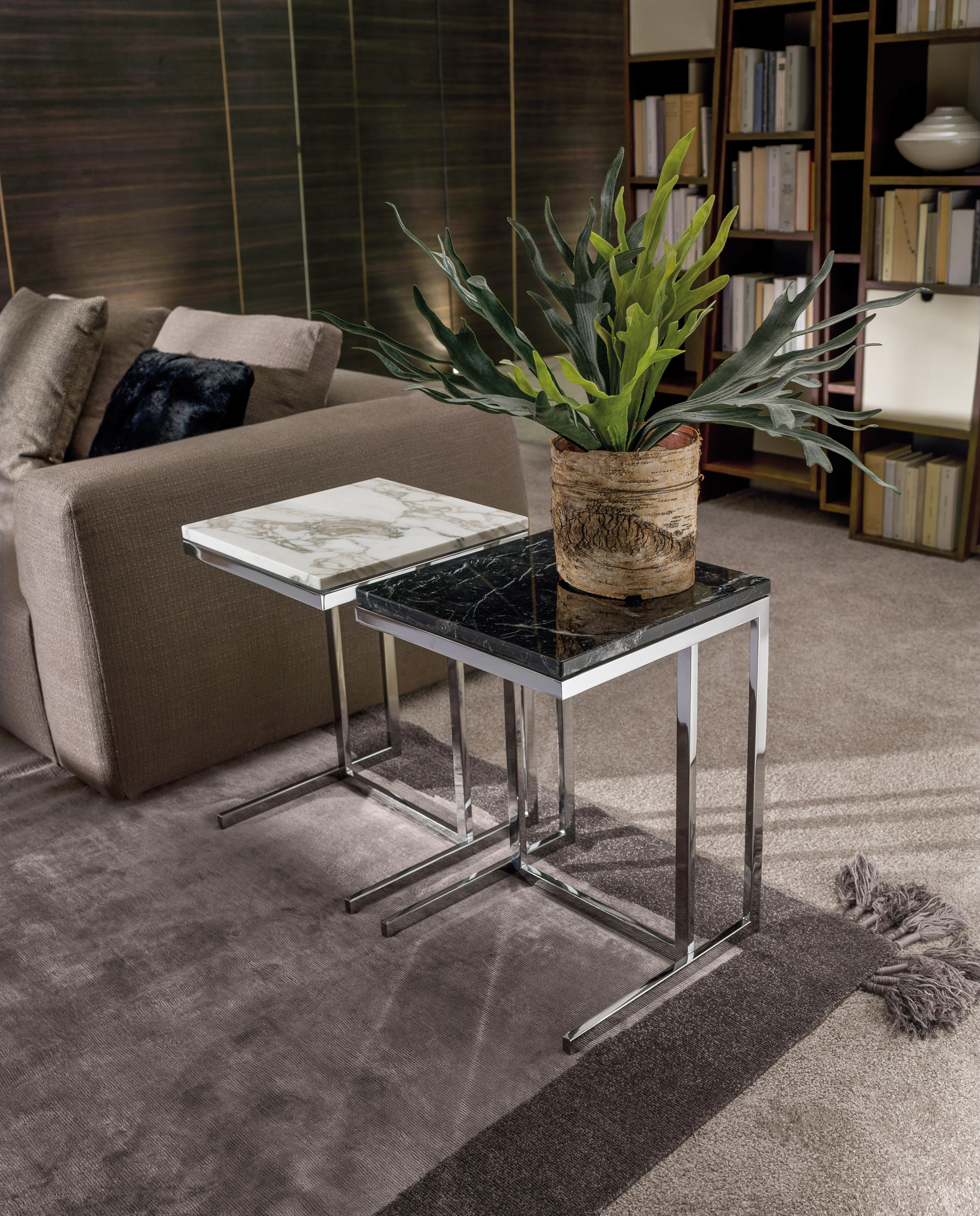 Kubico Side Tables From I 4 Mariani Architonic # Meuble Tv Kubico