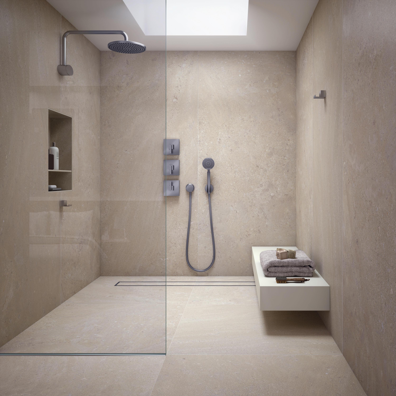 Petra crema natural sk bodenfliesen von inalco architonic - Salle de bain minerale ...