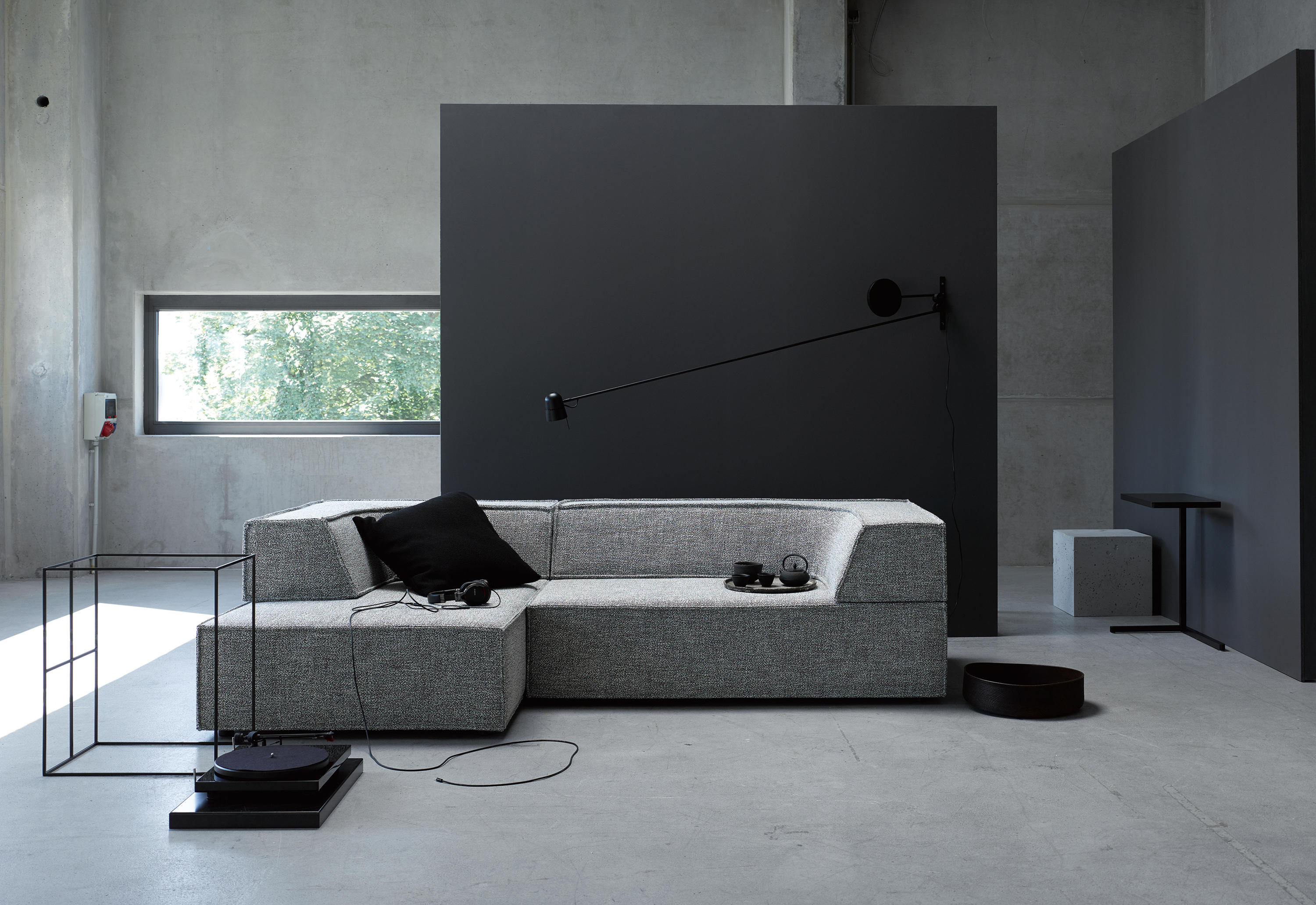trio corner sofa lounge sofas from cor architonic. Black Bedroom Furniture Sets. Home Design Ideas