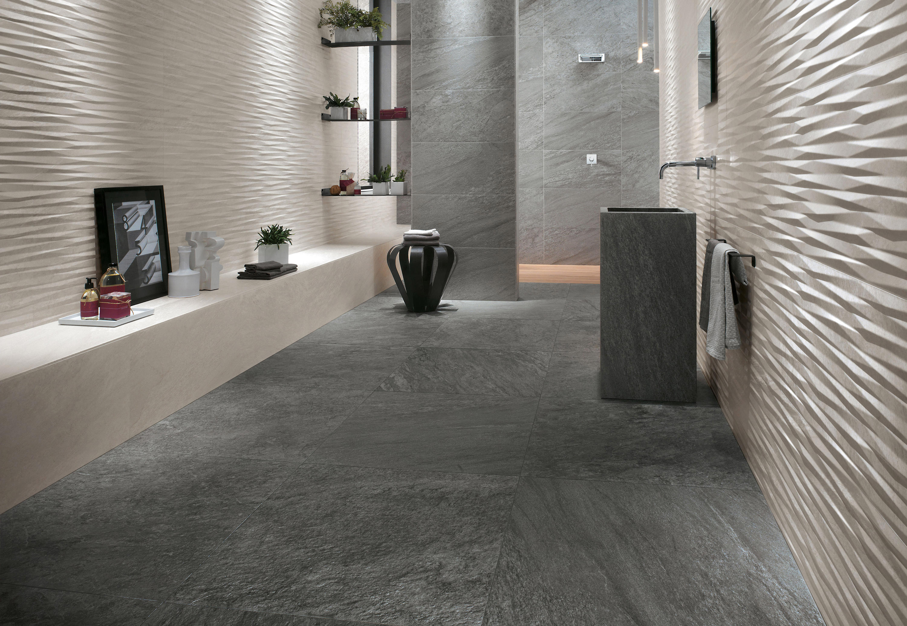 BRAVE 3D WALL BLADE Ceramic Tiles From Atlas Concorde