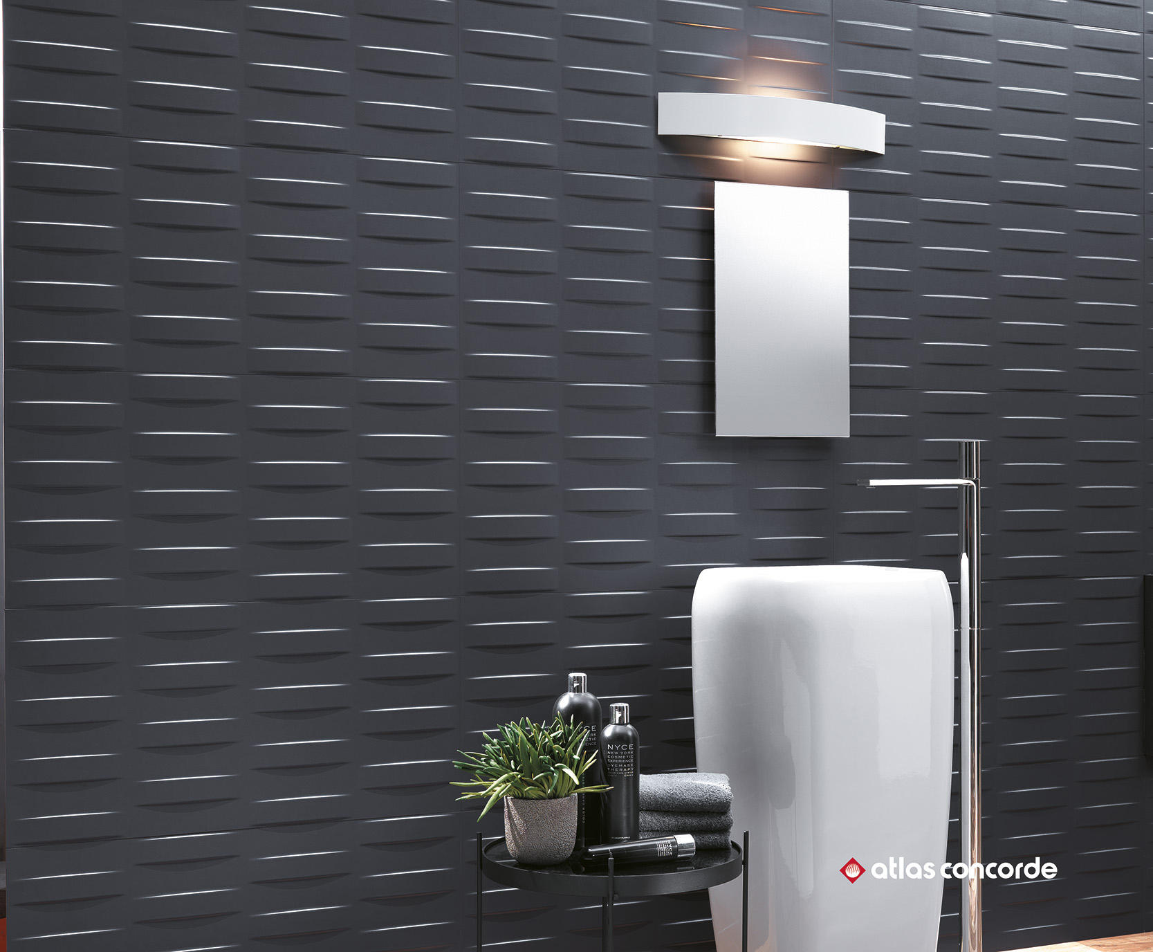3d wall diamond white wall tiles by atlas concorde - Fliesen rudroff ...