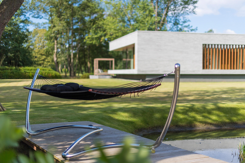 diy pole crafted stand charleston wooden hammock