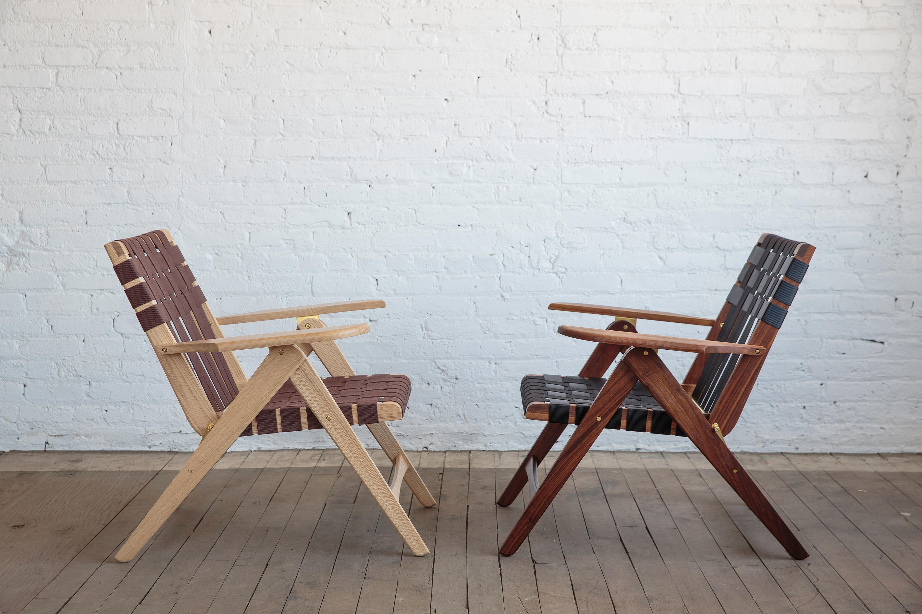 Superbe ... Folding Lounge Chair Oak By Todd St. John ...